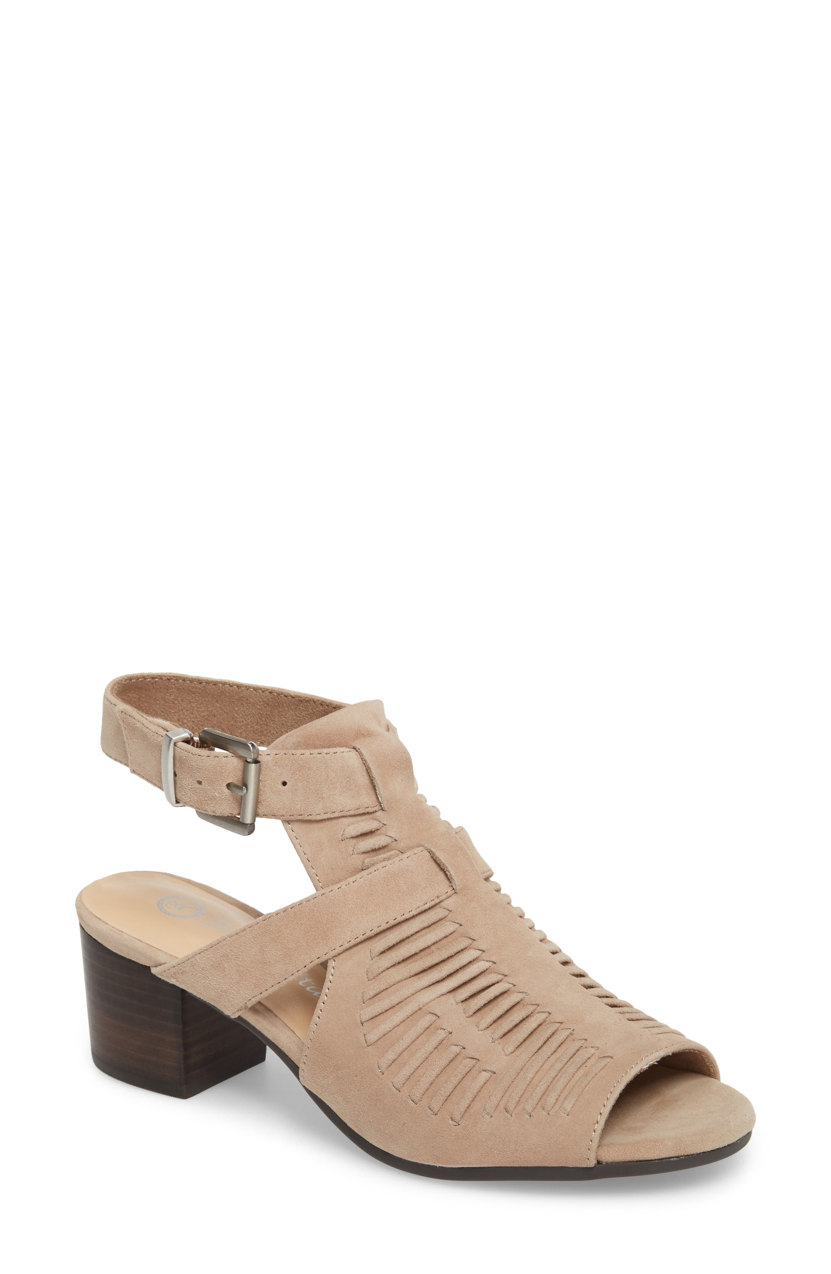Finley Ankle Strap Sandal,                             Main thumbnail 4, color,