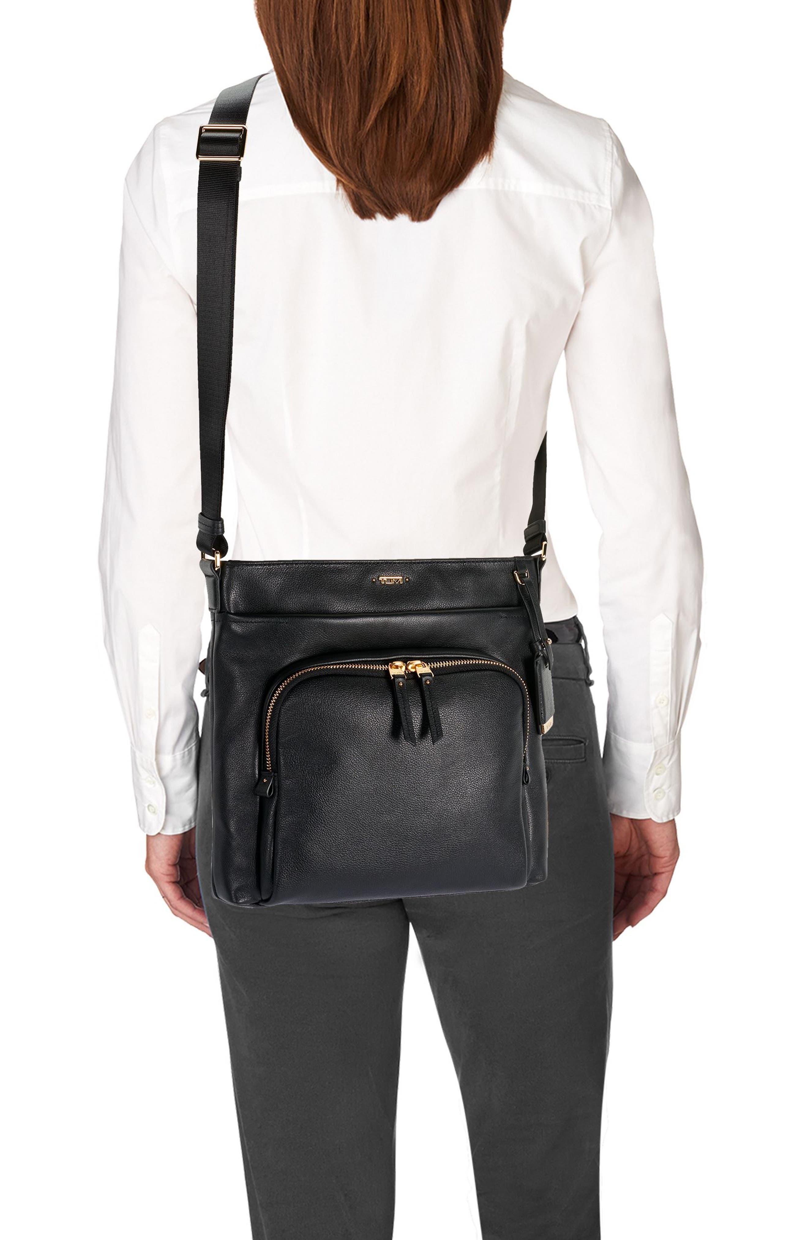 Voyageur - Capri Leather Crossbody Bag,                             Alternate thumbnail 13, color,