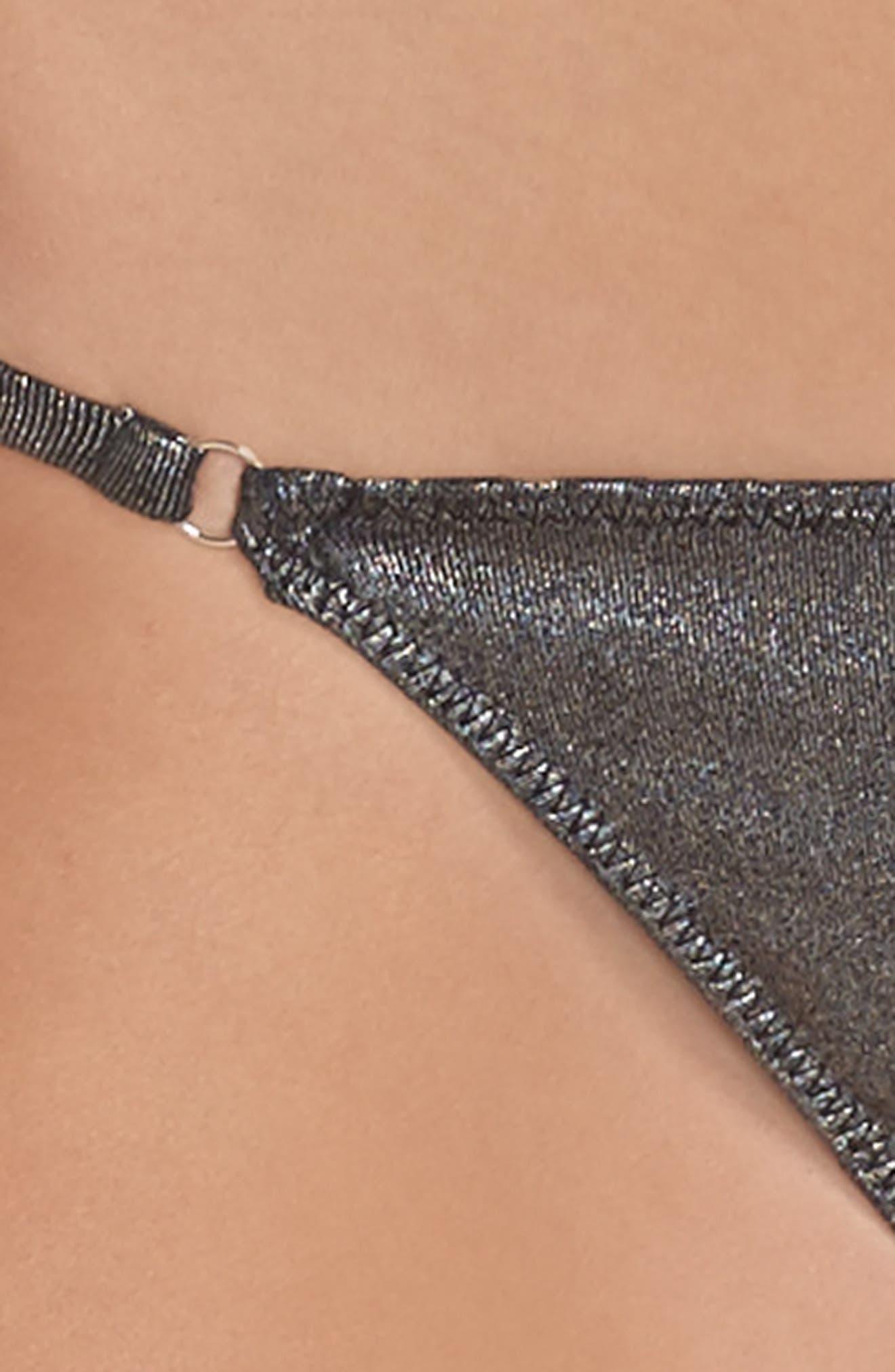 Free People Intimately FP Shine A Light String Bikini,                             Alternate thumbnail 4, color,                             019