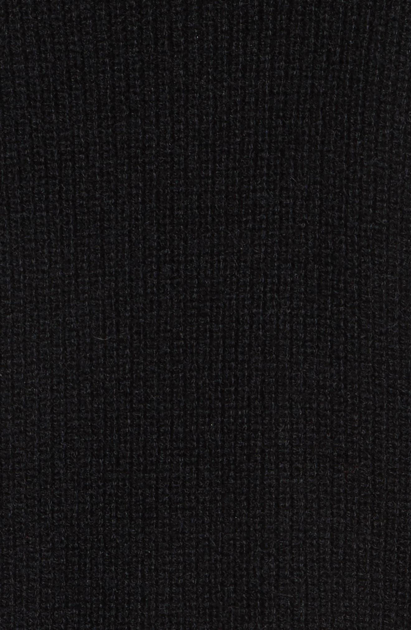 Cold Shoulder Cashmere Pullover,                             Alternate thumbnail 9, color,