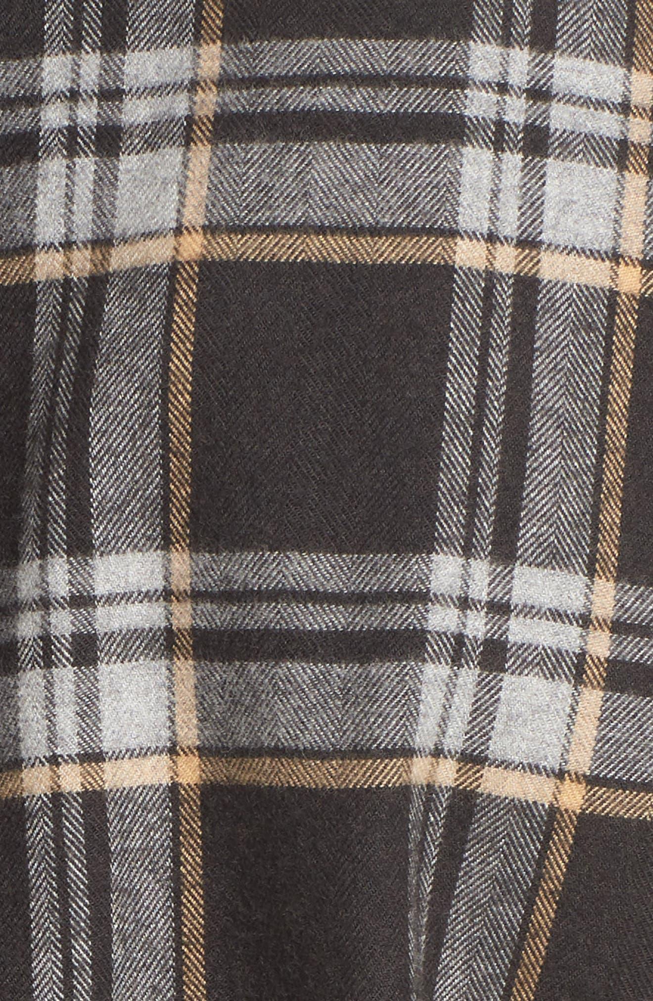 Lalo Plaid Flannel Shirt,                             Alternate thumbnail 5, color,                             262