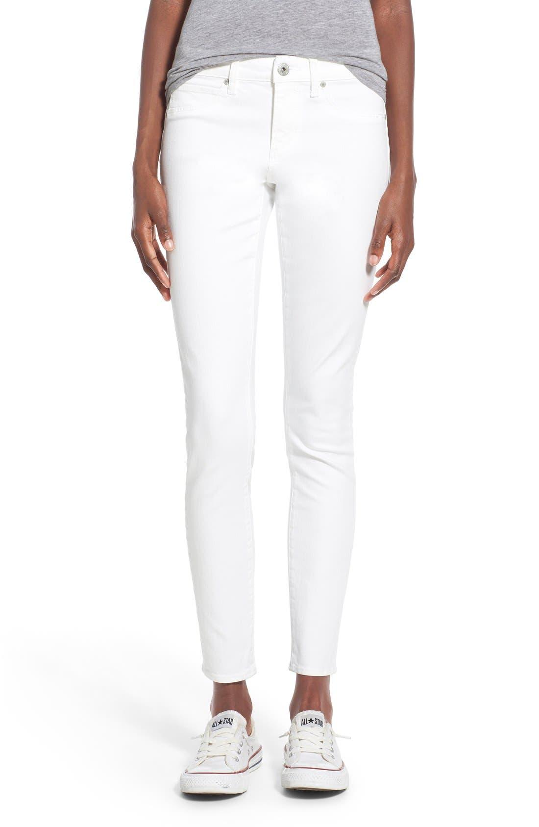 'Sarah' Skinny Jeans,                         Main,                         color, 100
