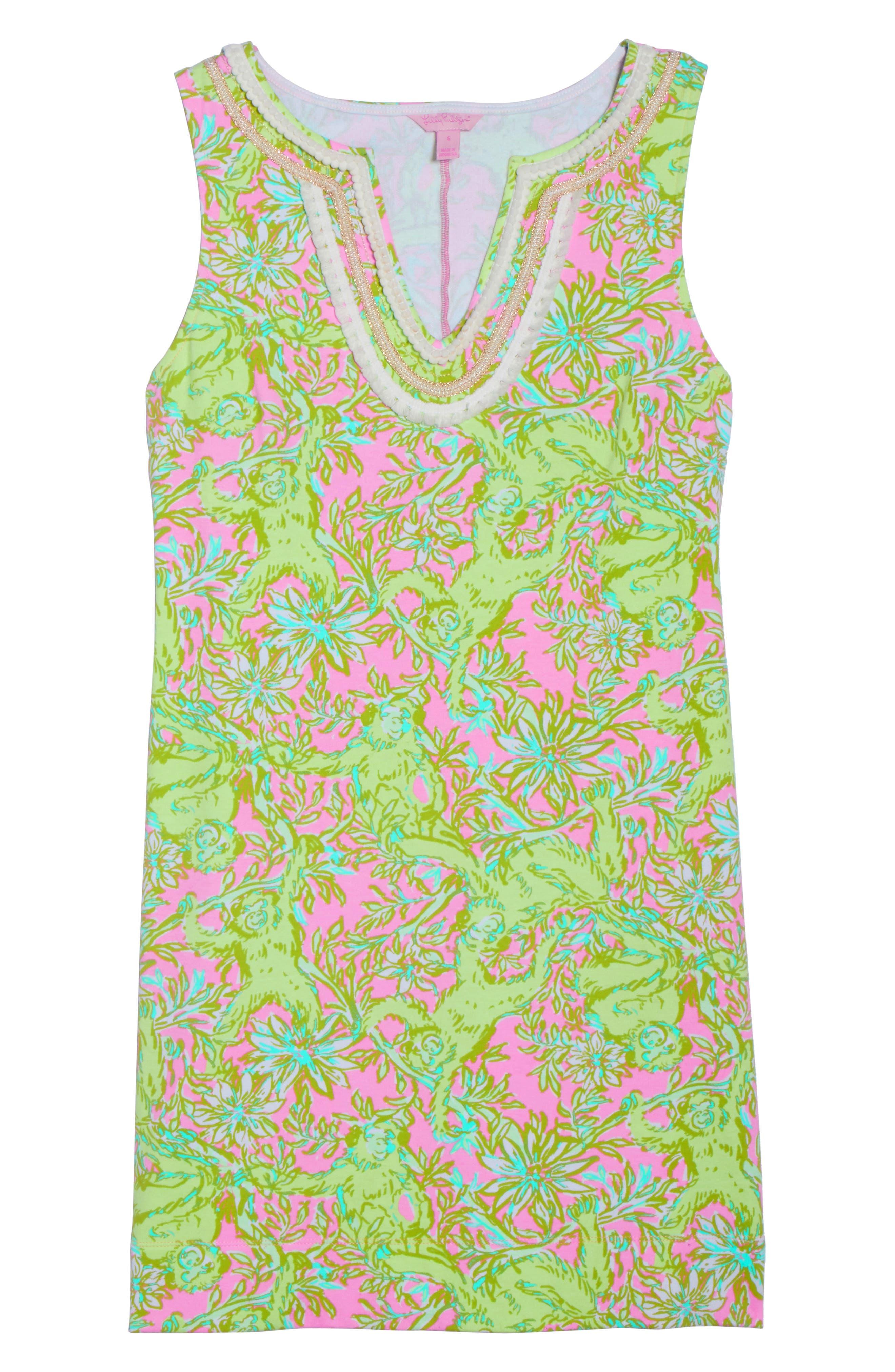 Harper Shift Dress,                             Alternate thumbnail 7, color,                             658