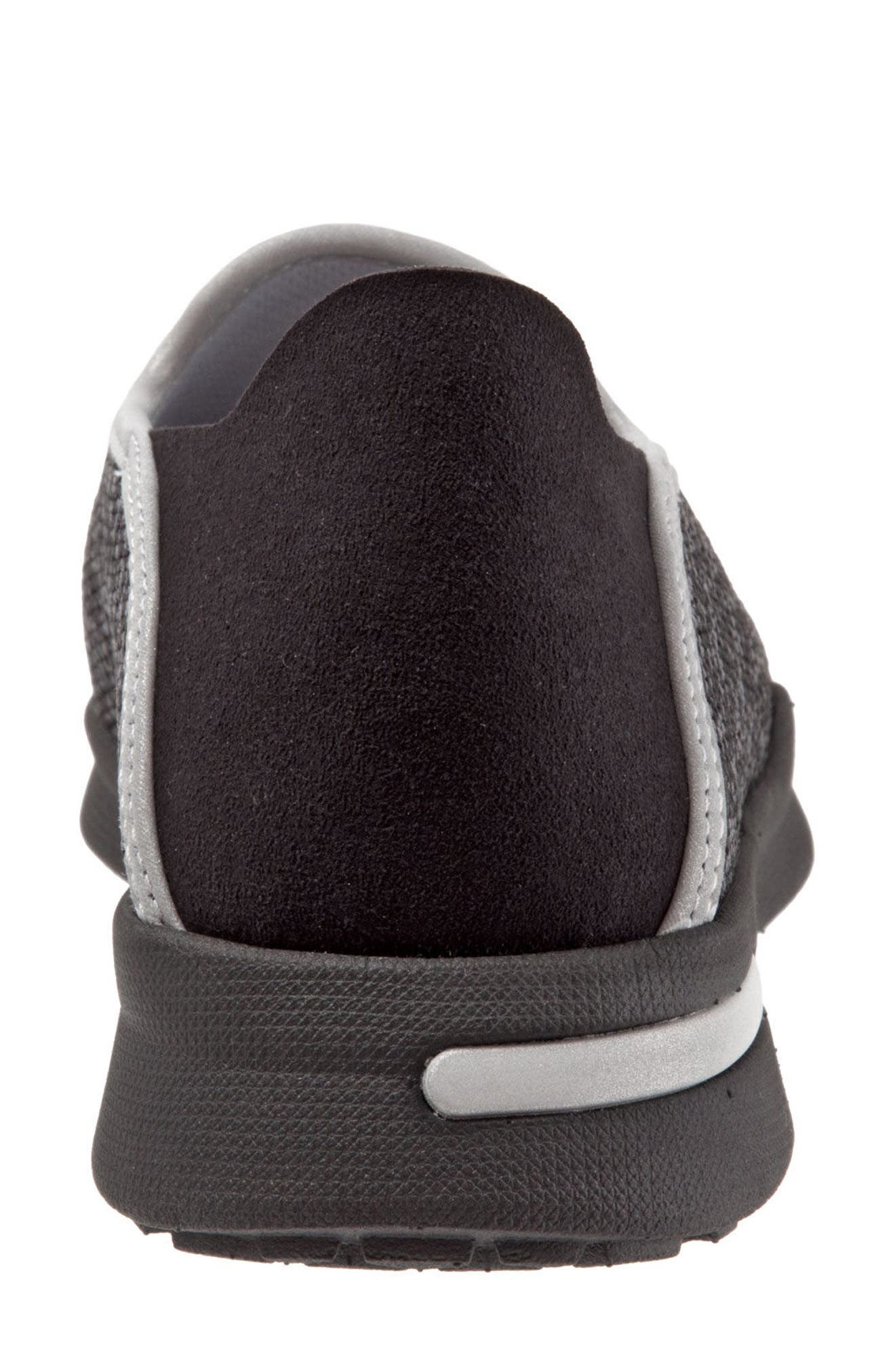 Simba Convertible Slip-On,                             Alternate thumbnail 8, color,                             BLACK FABRIC