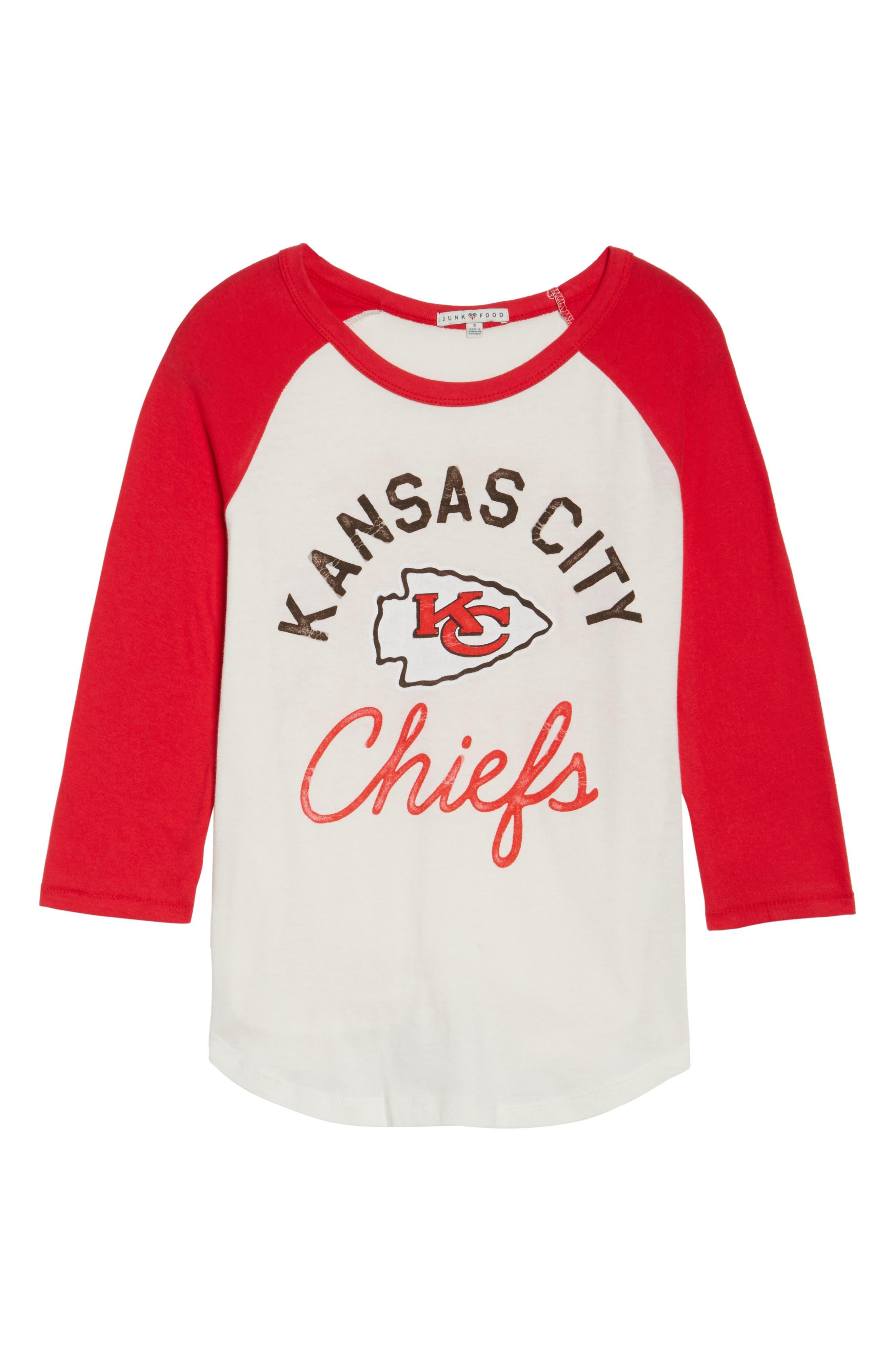 NFL Kansas City Chiefs Raglan Tee,                             Alternate thumbnail 6, color,                             189