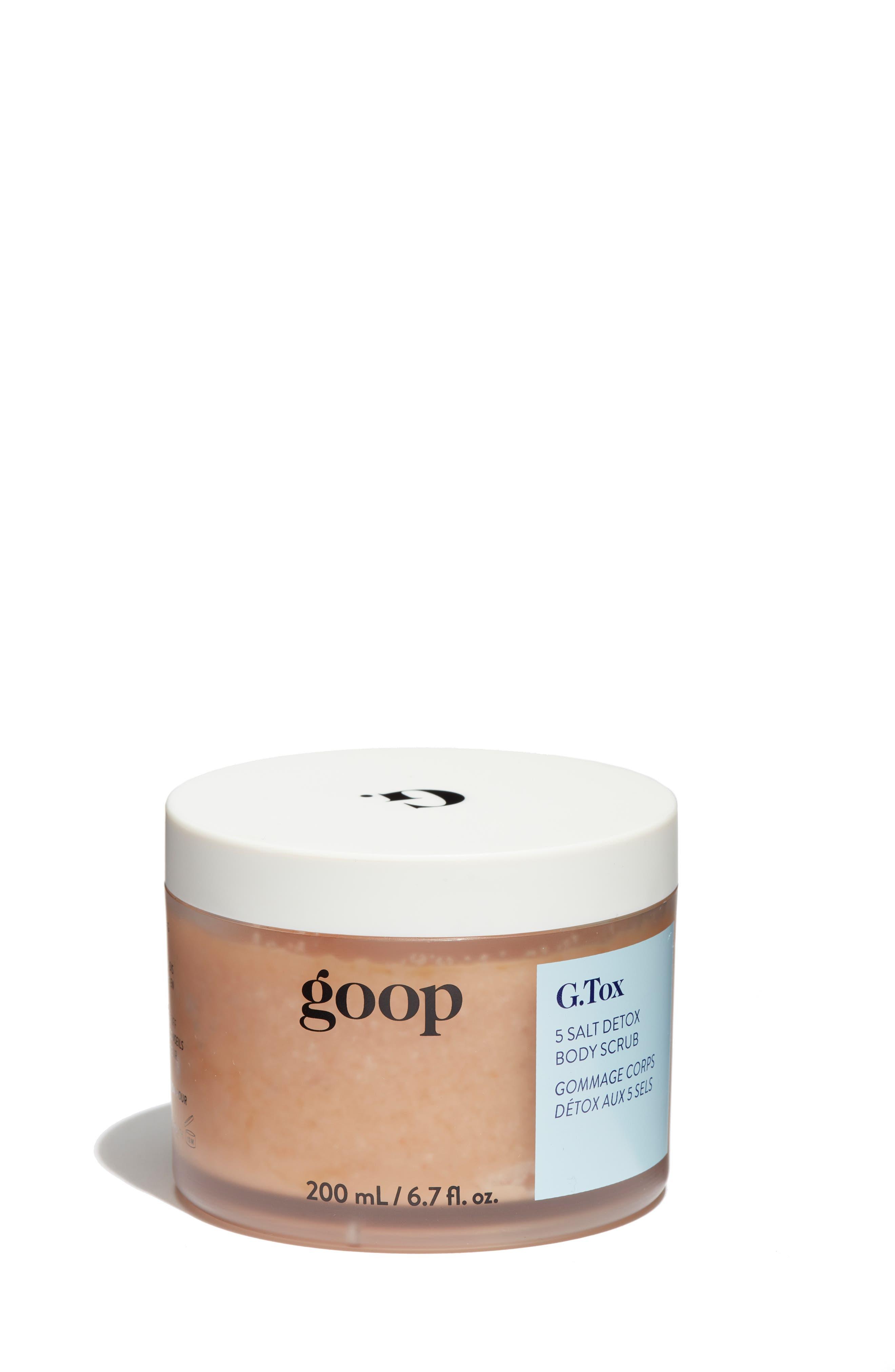 G.Tox 5 Salt Detox Body Scrub,                             Main thumbnail 1, color,                             960