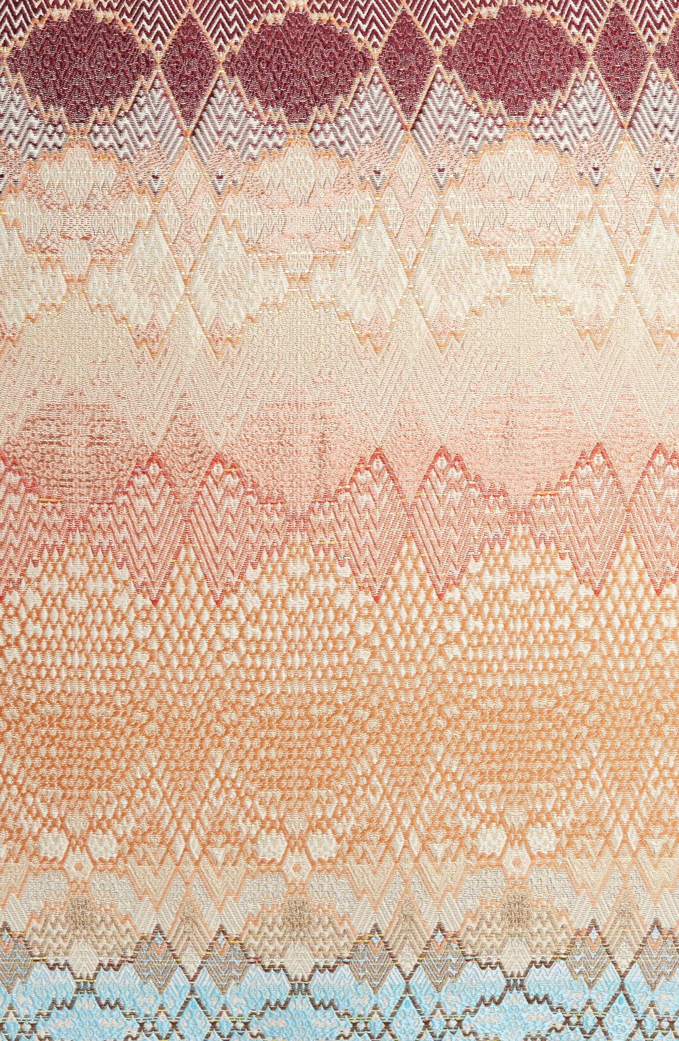 MISSONI,                             Tbilissi Accent Pillow,                             Alternate thumbnail 3, color,                             800