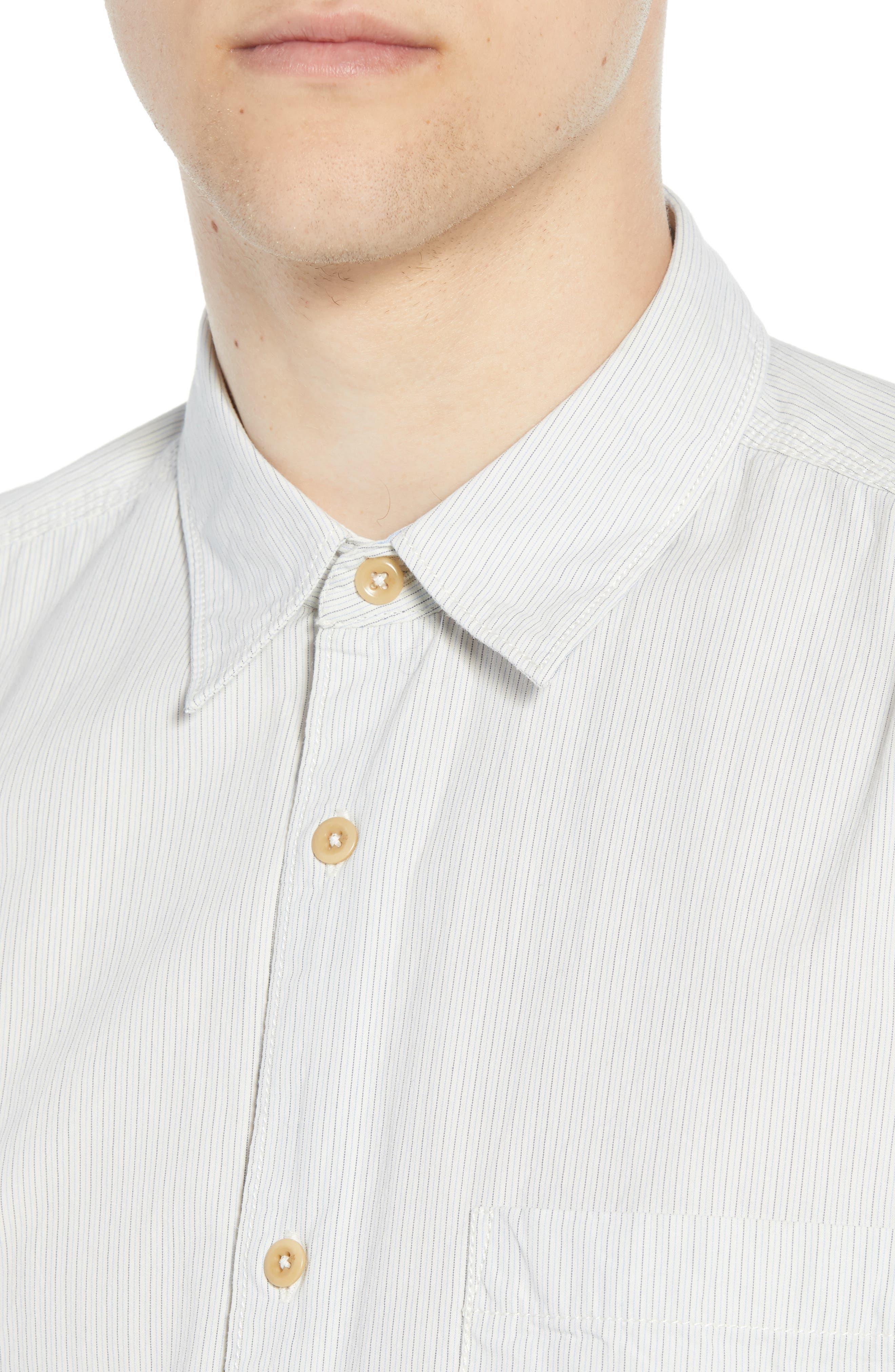 Core Peach Regular Fit Patchwork Sport Shirt,                             Alternate thumbnail 2, color,                             400