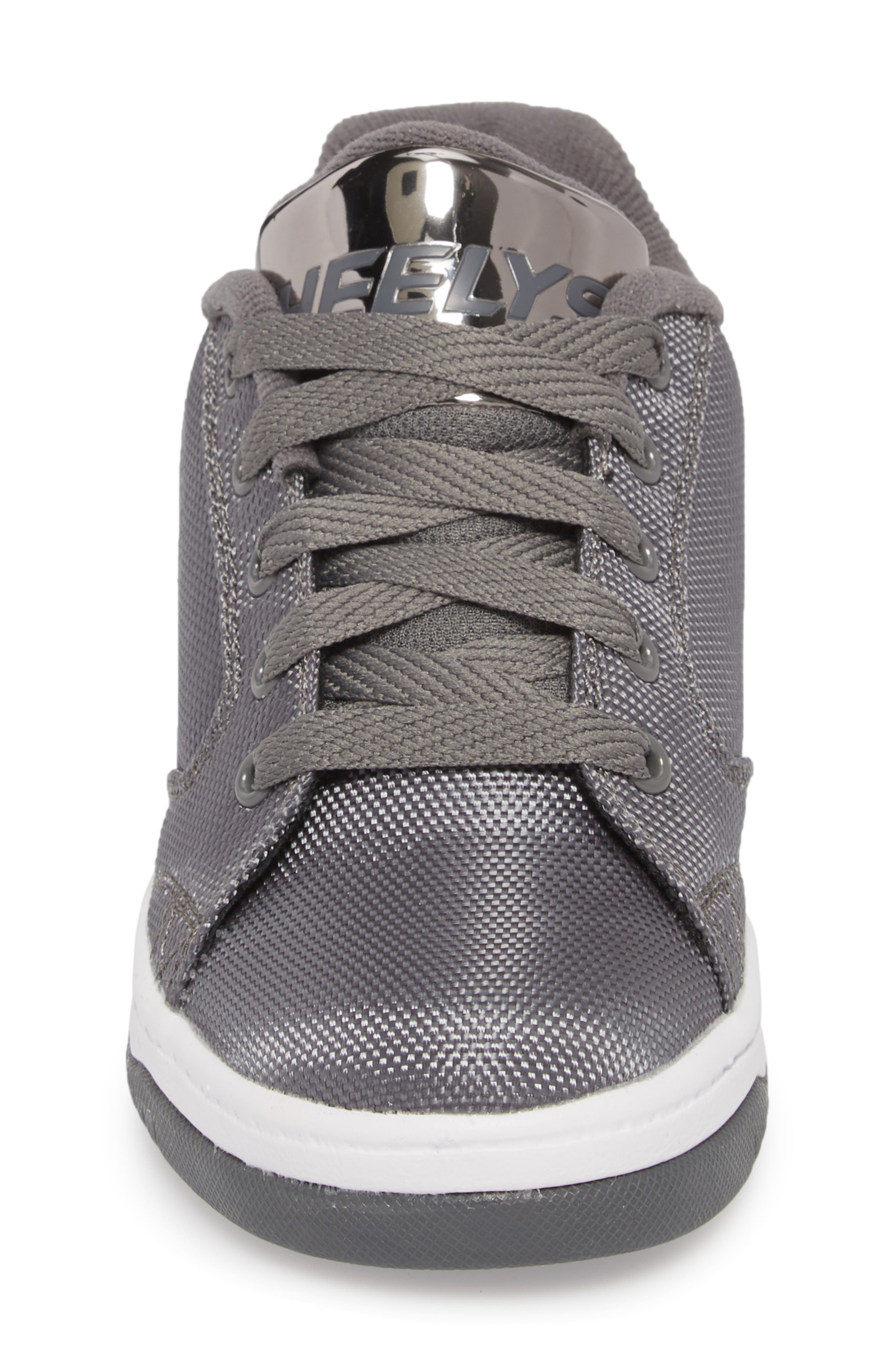 Heels Propel Ballistic Sneaker,                             Alternate thumbnail 4, color,                             CHARCOAL/ PEWTER
