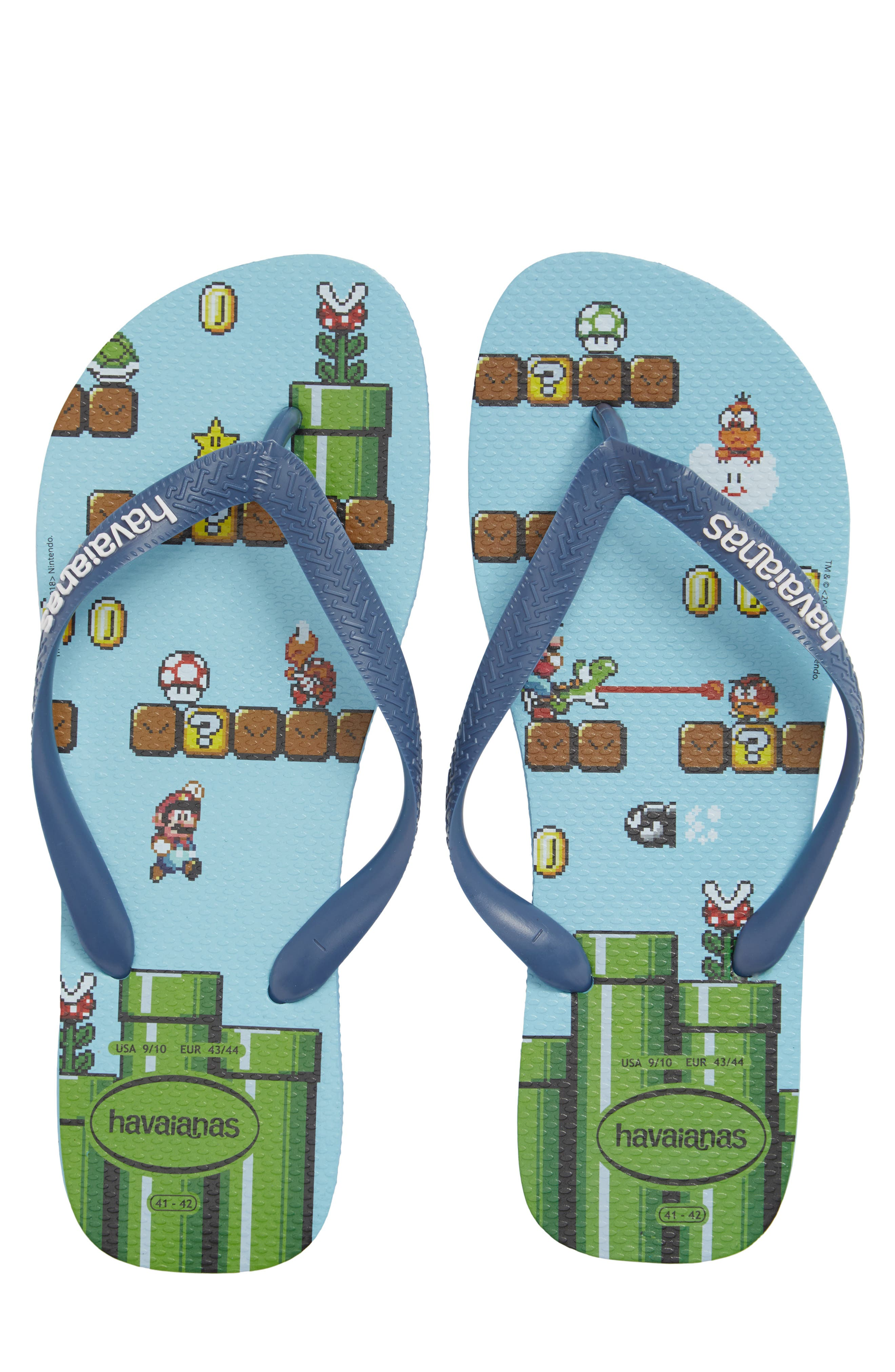 Mario Bros. Flip Flop,                             Main thumbnail 1, color,                             401