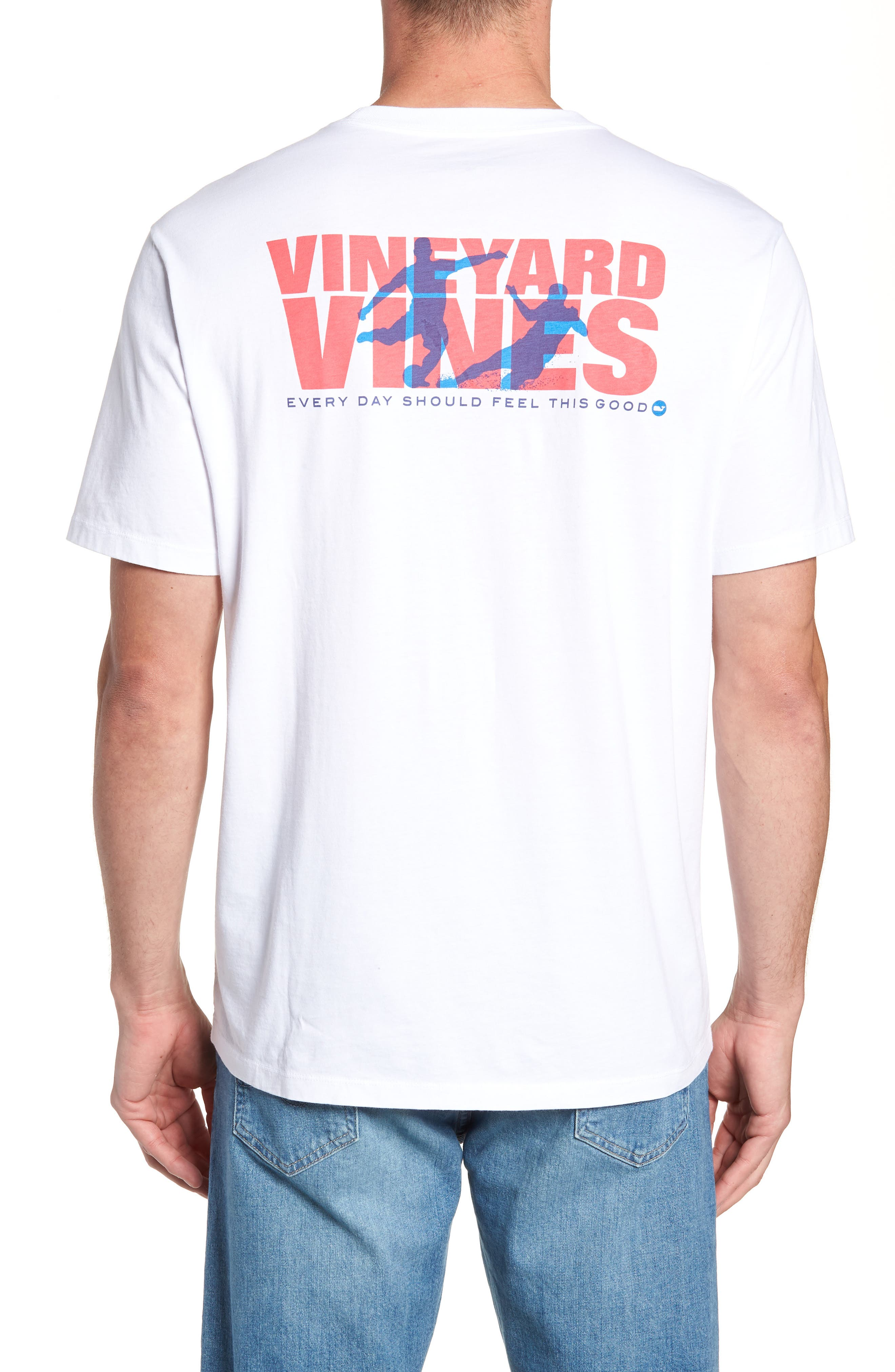 Knockout Soccer T-Shirt,                             Alternate thumbnail 2, color,                             100