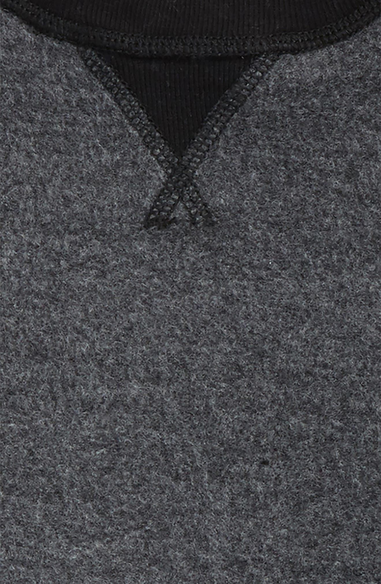 Reverse Crewneck Sweatshirt,                             Alternate thumbnail 2, color,                             030
