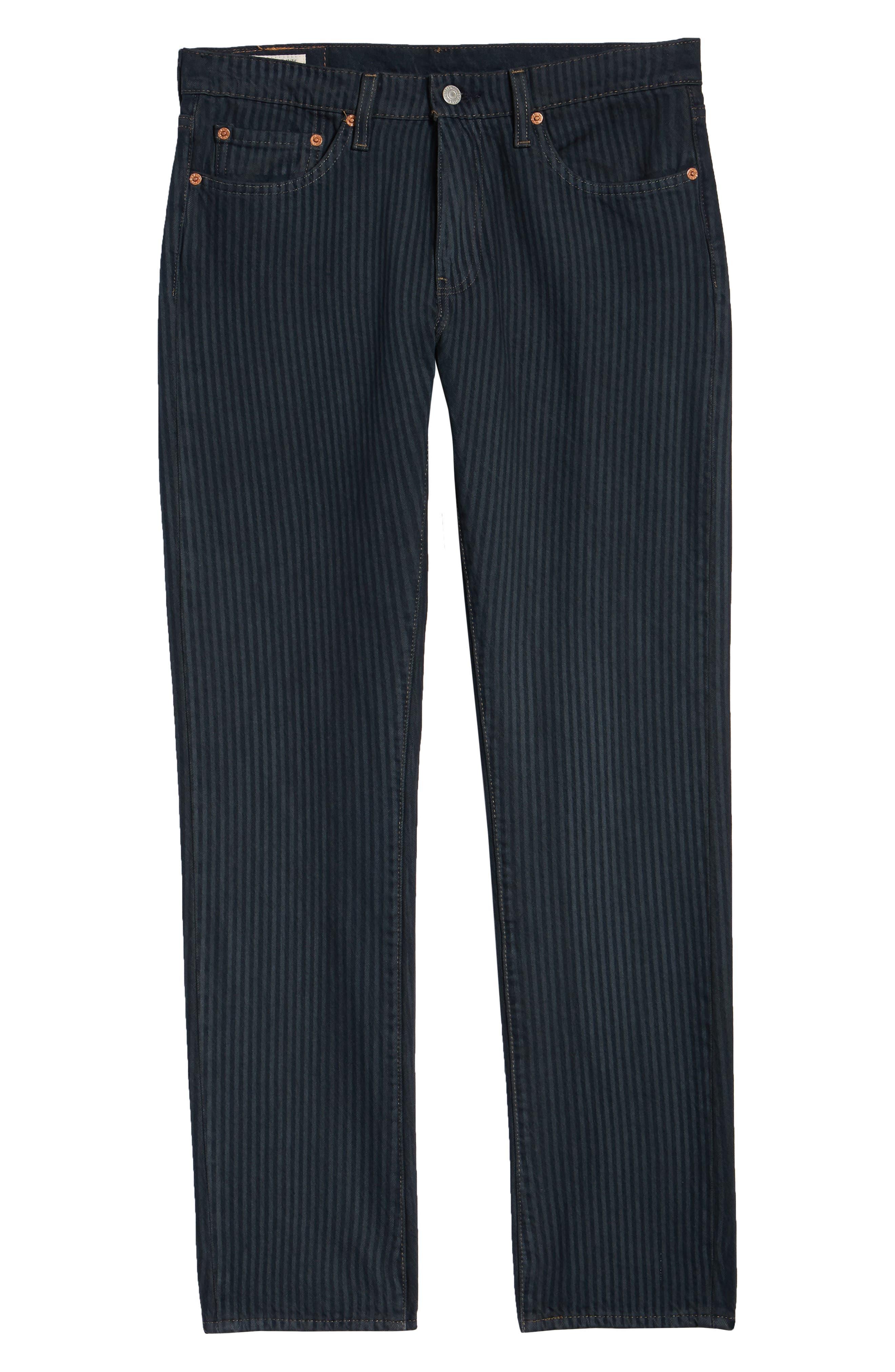 511<sup>™</sup> Stripe Slim Fit Jeans,                             Alternate thumbnail 6, color,                             PAUPER