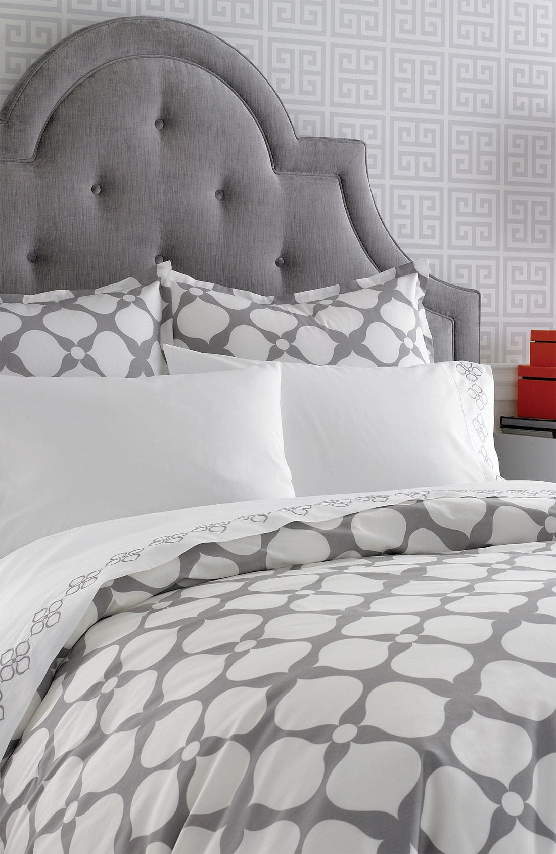 'Hollywood' 400 Thread Count Duvet Cover,                             Alternate thumbnail 2, color,                             020