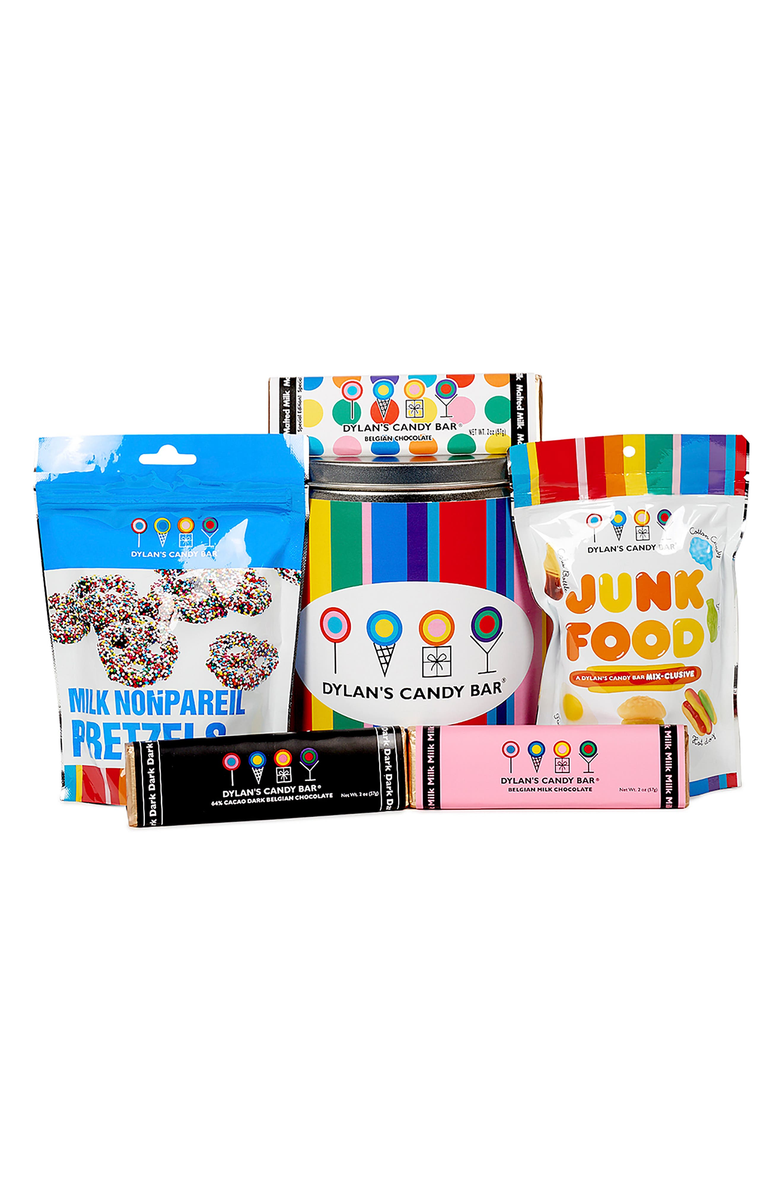 Mini Party In A Bucket Candy Assortment,                             Alternate thumbnail 2, color,                             BLUE MULTI