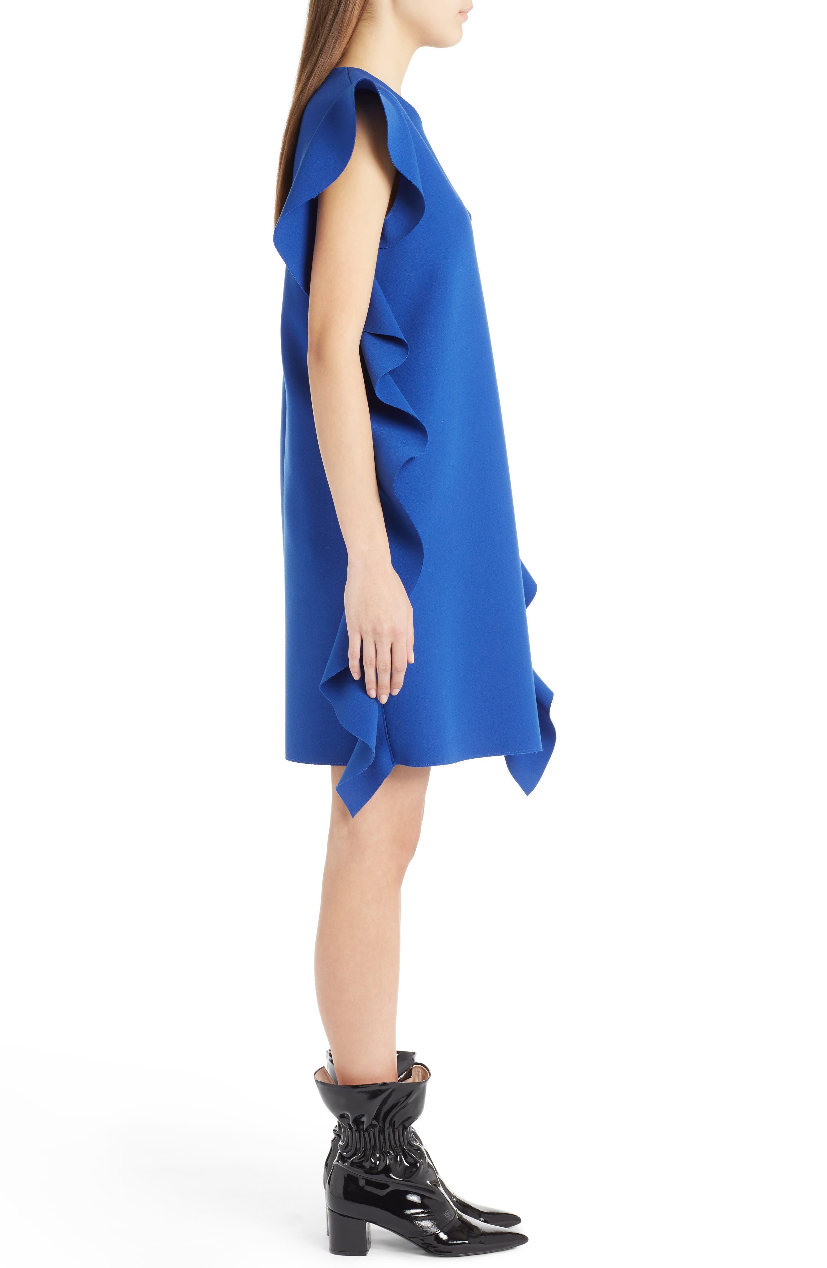 Ruffle Dress,                             Alternate thumbnail 3, color,                             400