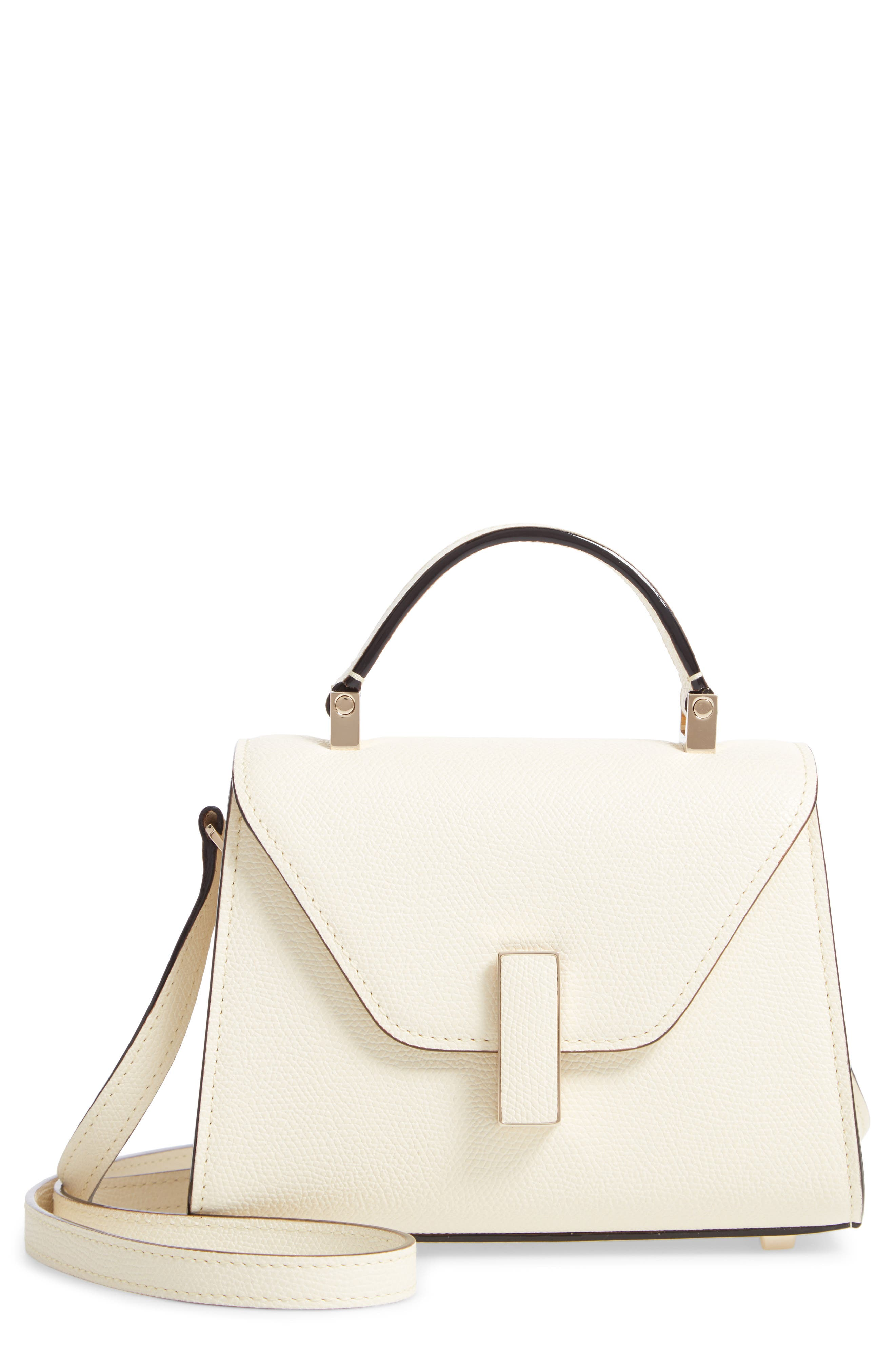 Iside Micro Top Handle Bag,                         Main,                         color, WHITE