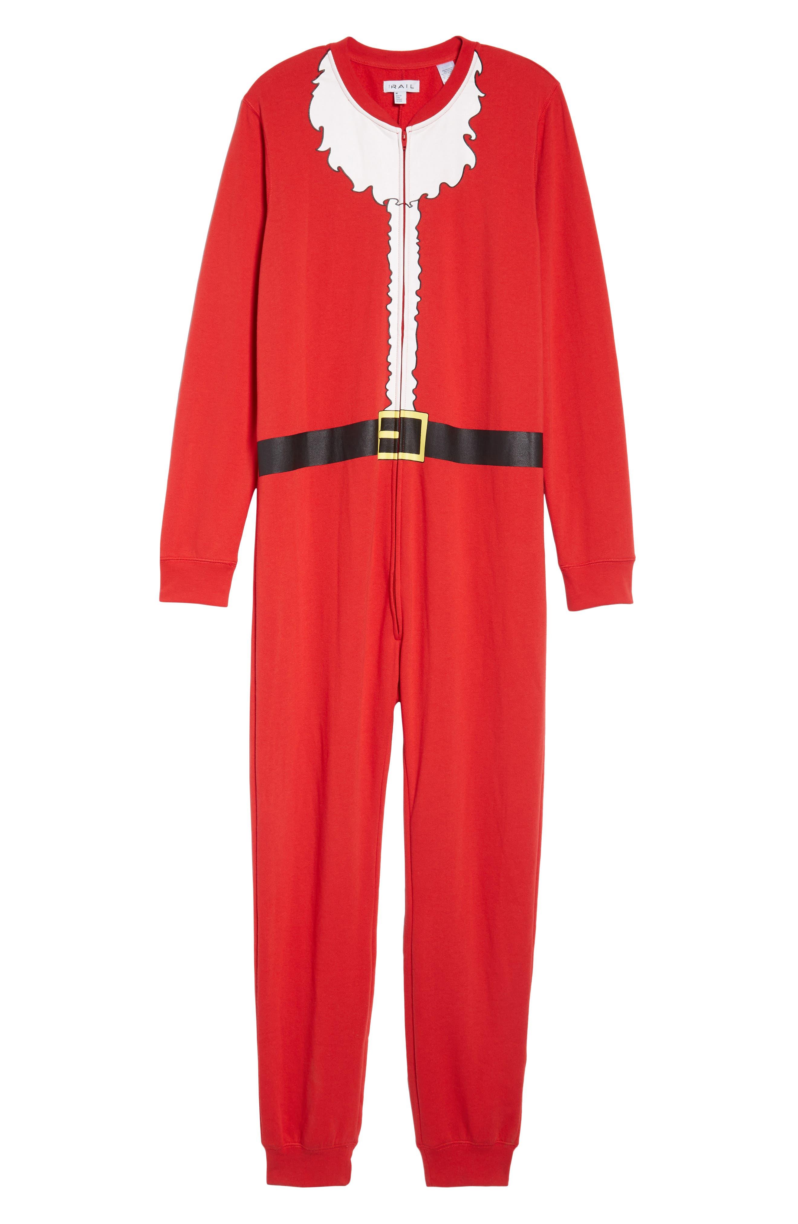 Fleece One-Piece Pajamas,                             Alternate thumbnail 33, color,