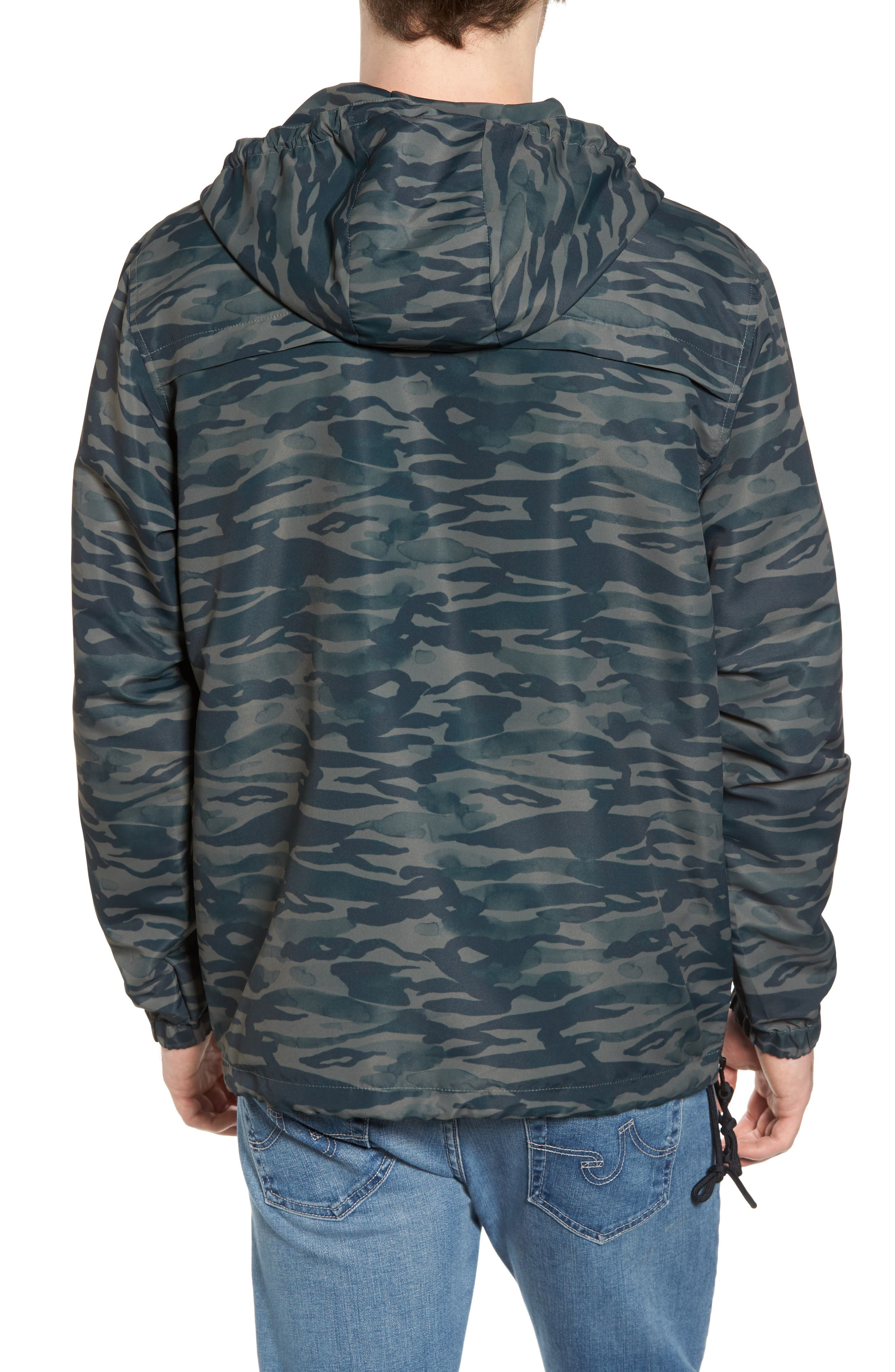 Packaway Hooded Anorak,                             Alternate thumbnail 6, color,