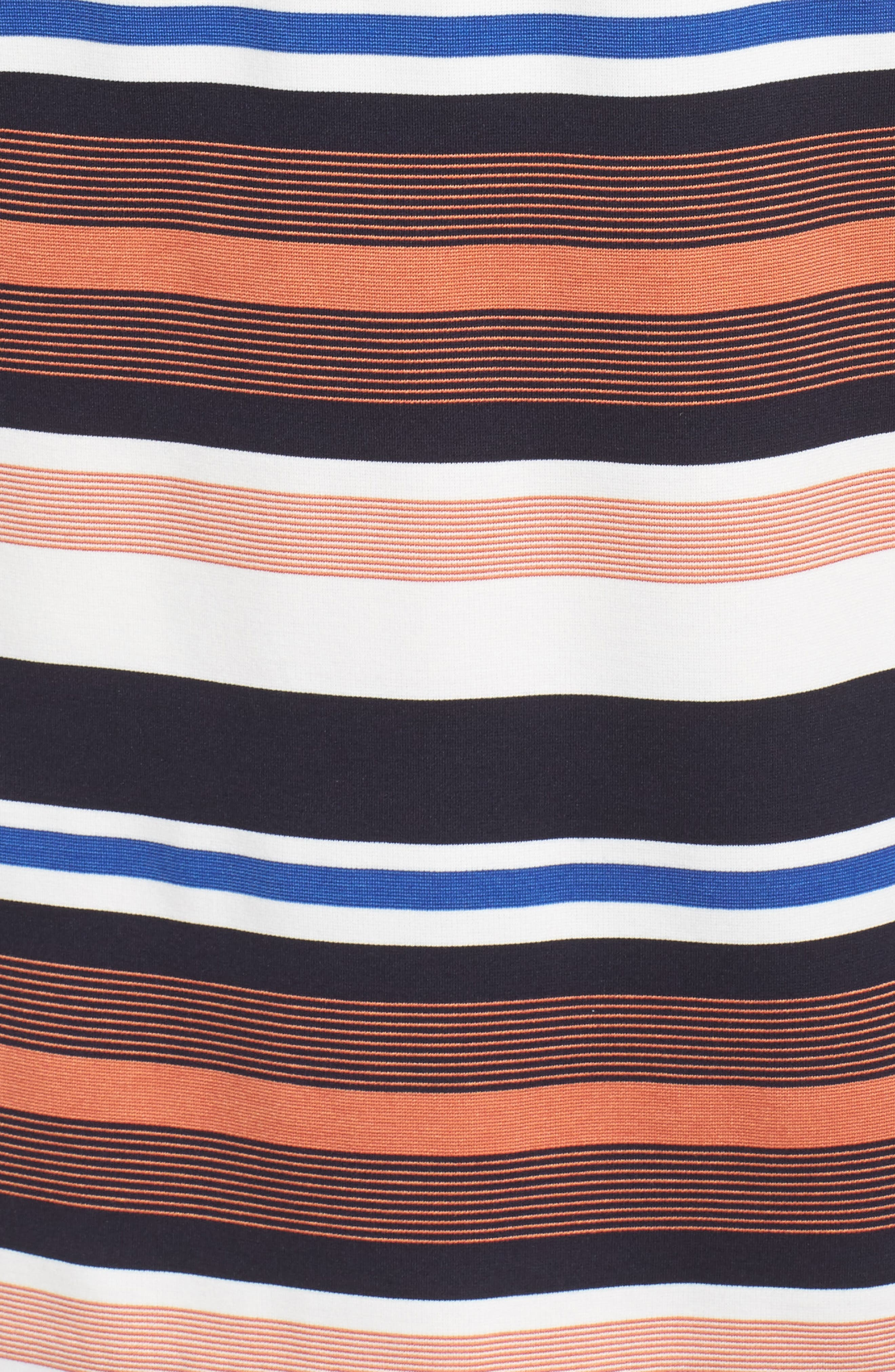 Stripe Shirtdress,                             Alternate thumbnail 5, color,                             474