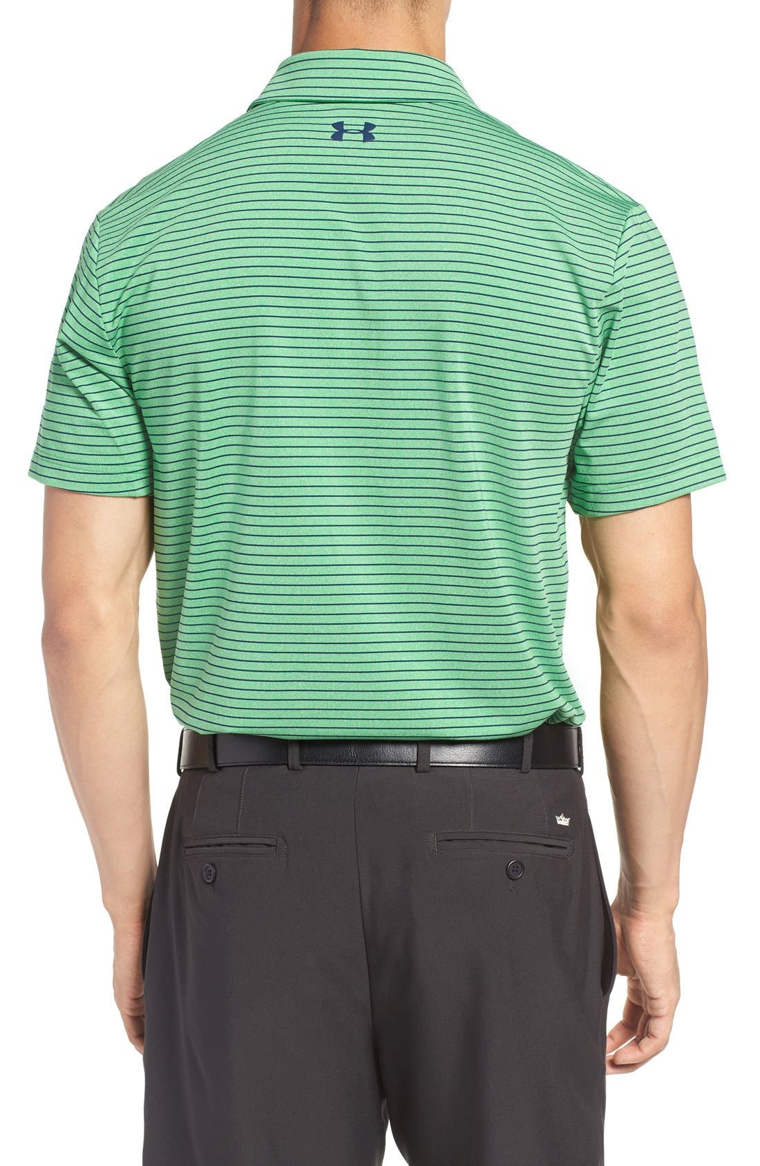 'Playoff' Loose Fit Short Sleeve Polo,                             Alternate thumbnail 168, color,