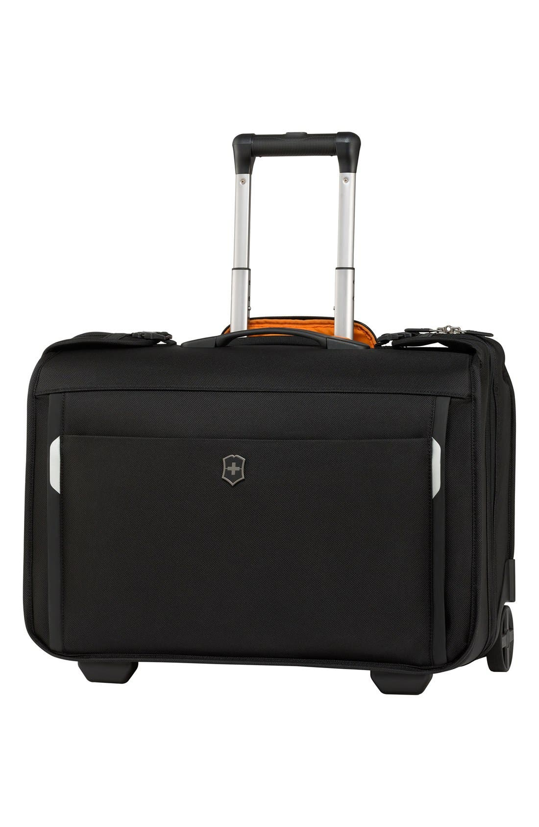 WT 5.0 - East/West Wheeled Garment Bag,                             Main thumbnail 1, color,                             001