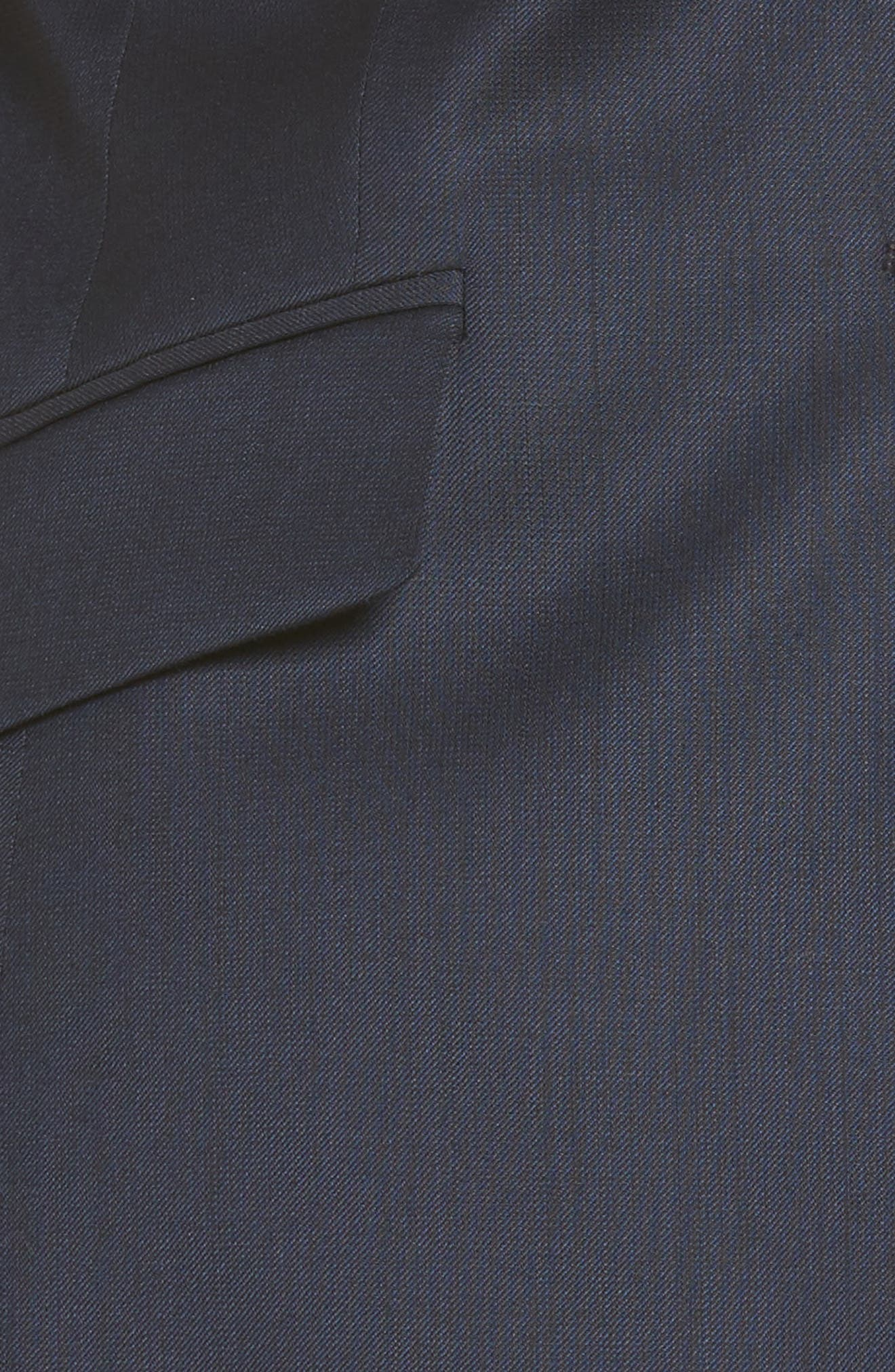 Stretch Wool Blend Suit Trousers,                             Alternate thumbnail 6, color,                             424