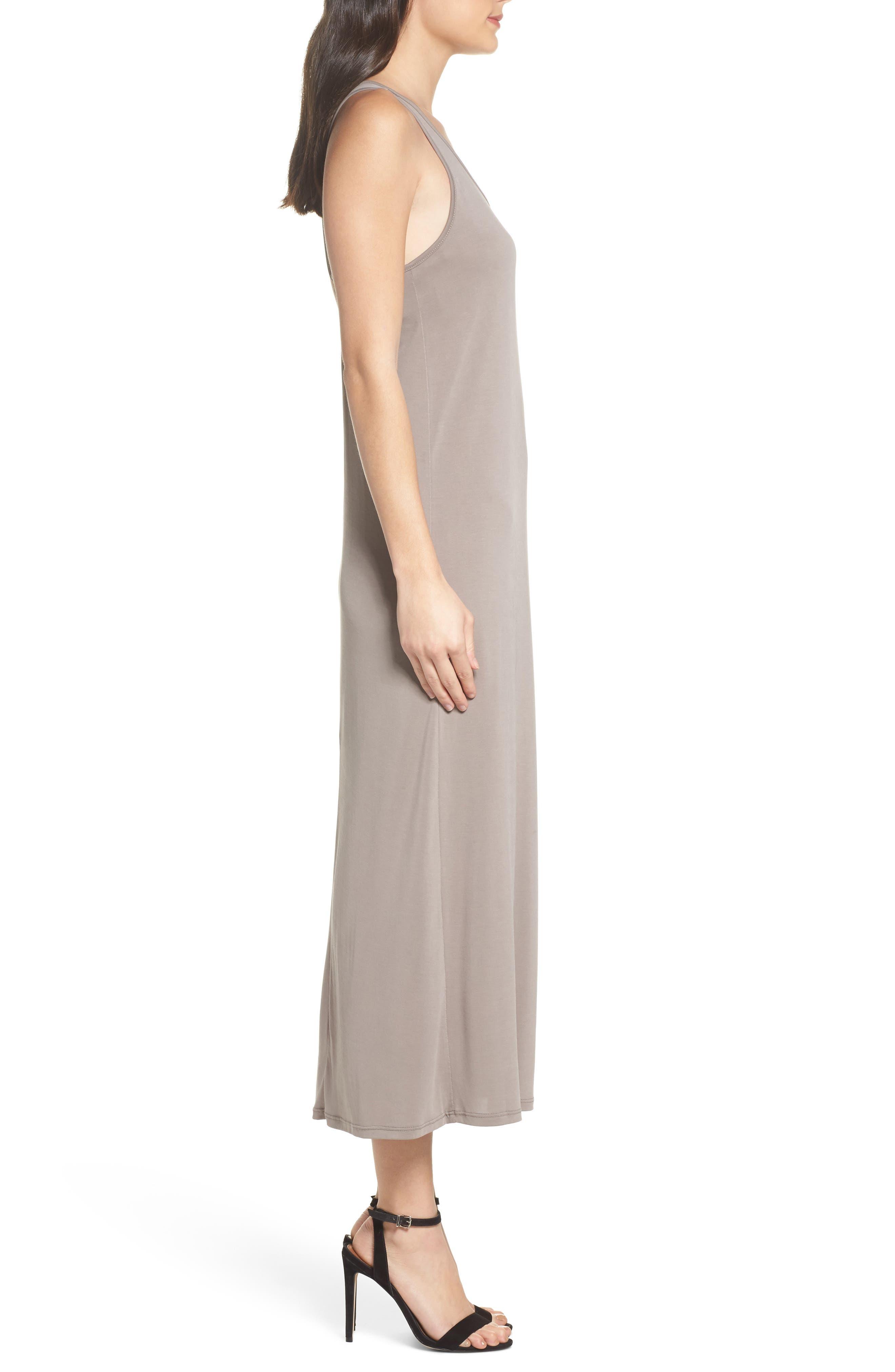 Knot Back Maxi Dress,                             Alternate thumbnail 3, color,                             250