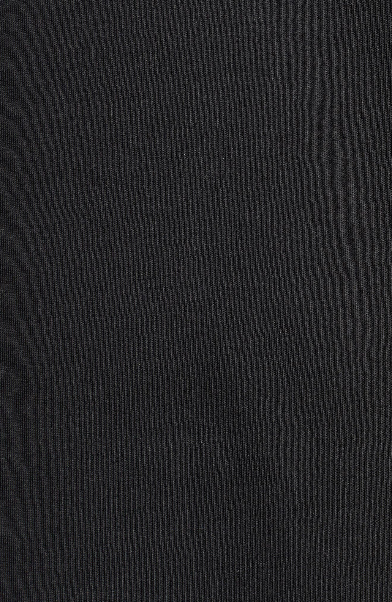 Vintage Logo Graphic T-Shirt,                             Alternate thumbnail 5, color,                             BLACK