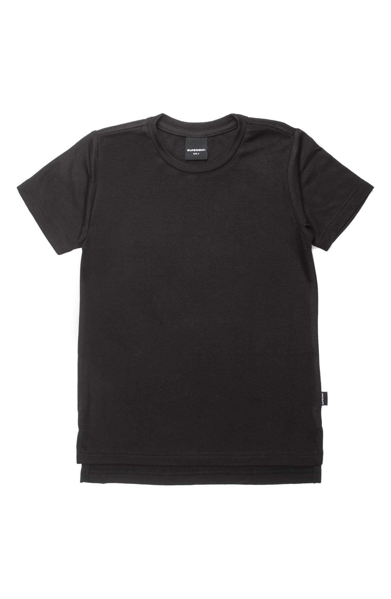 Brycen T-Shirt,                         Main,                         color, BLACK