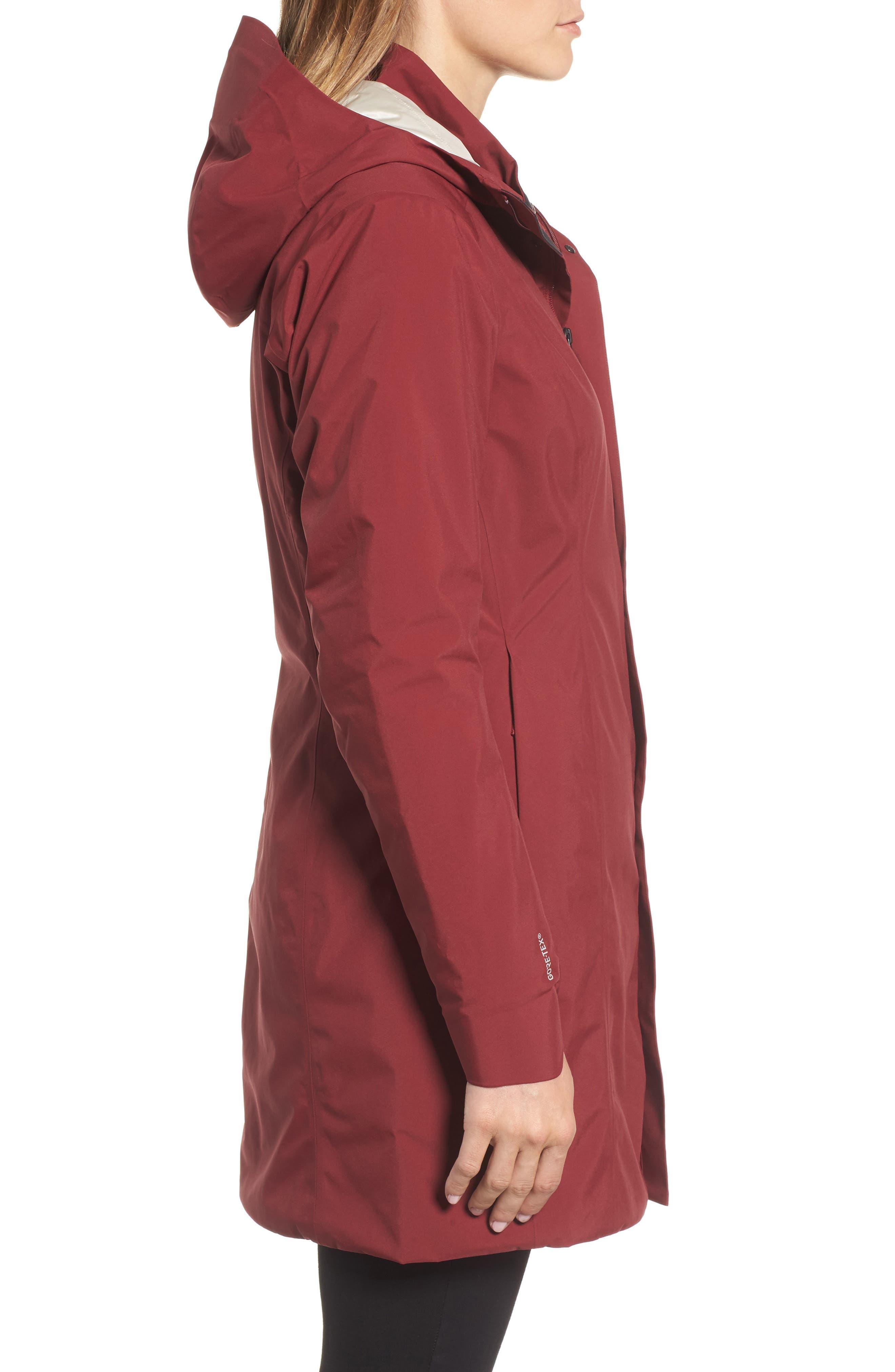 Durant Waterproof Hooded Jacket,                             Alternate thumbnail 3, color,                             600