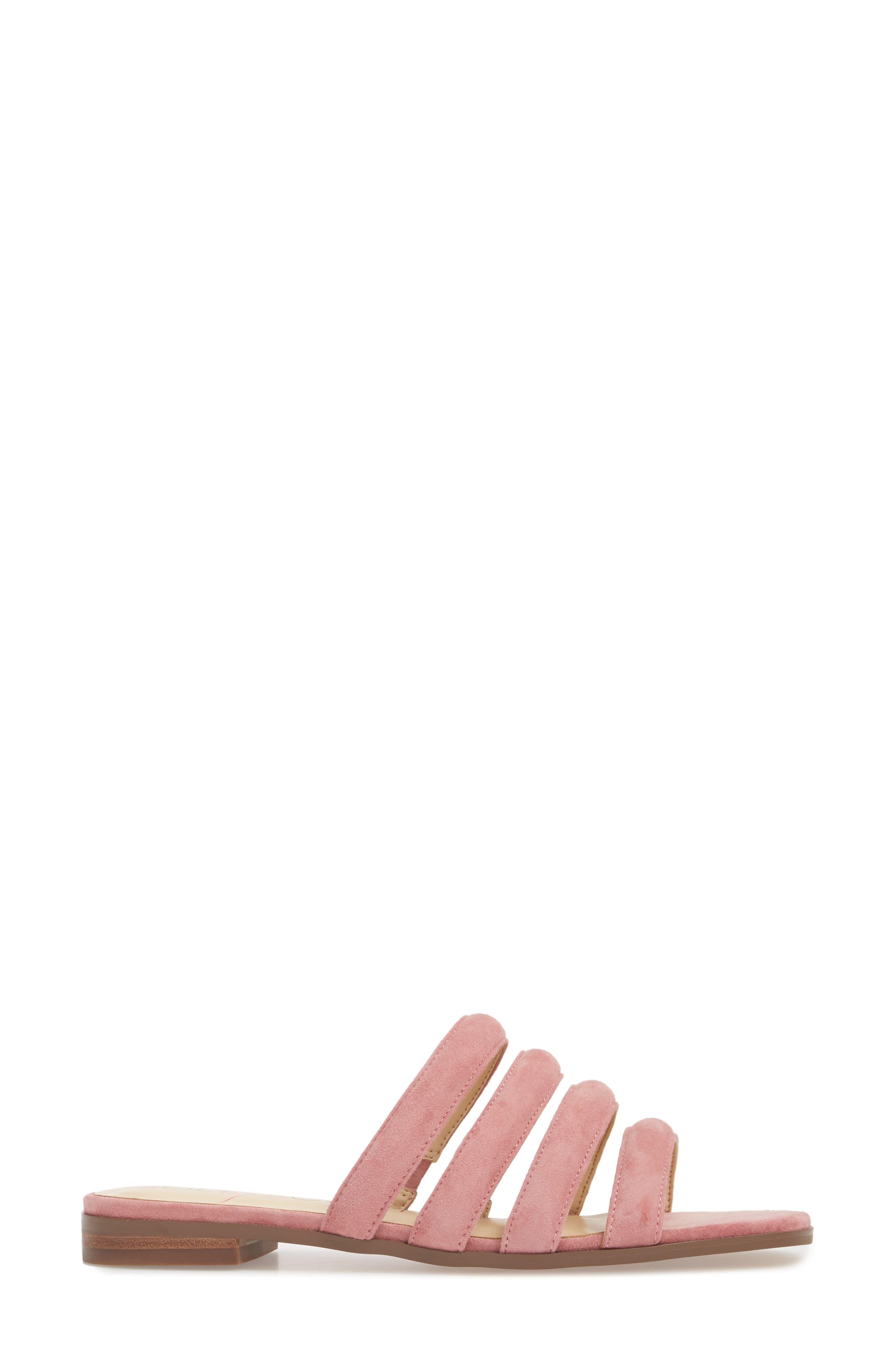 Saxten Strappy Slide Sandal,                             Alternate thumbnail 3, color,                             PRIMROSE