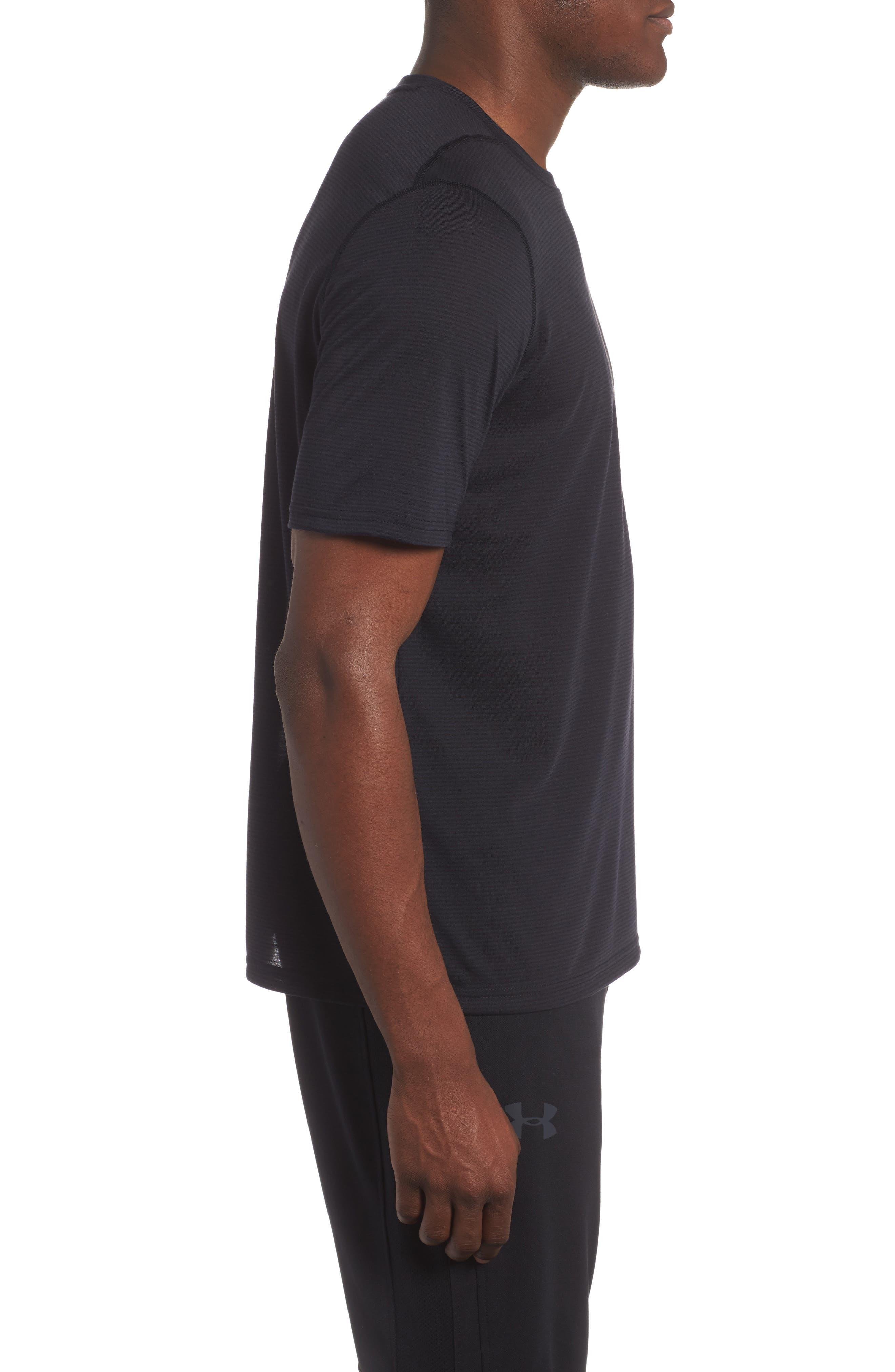 Threadborne Siro Regular Fit T-Shirt,                             Alternate thumbnail 3, color,                             001