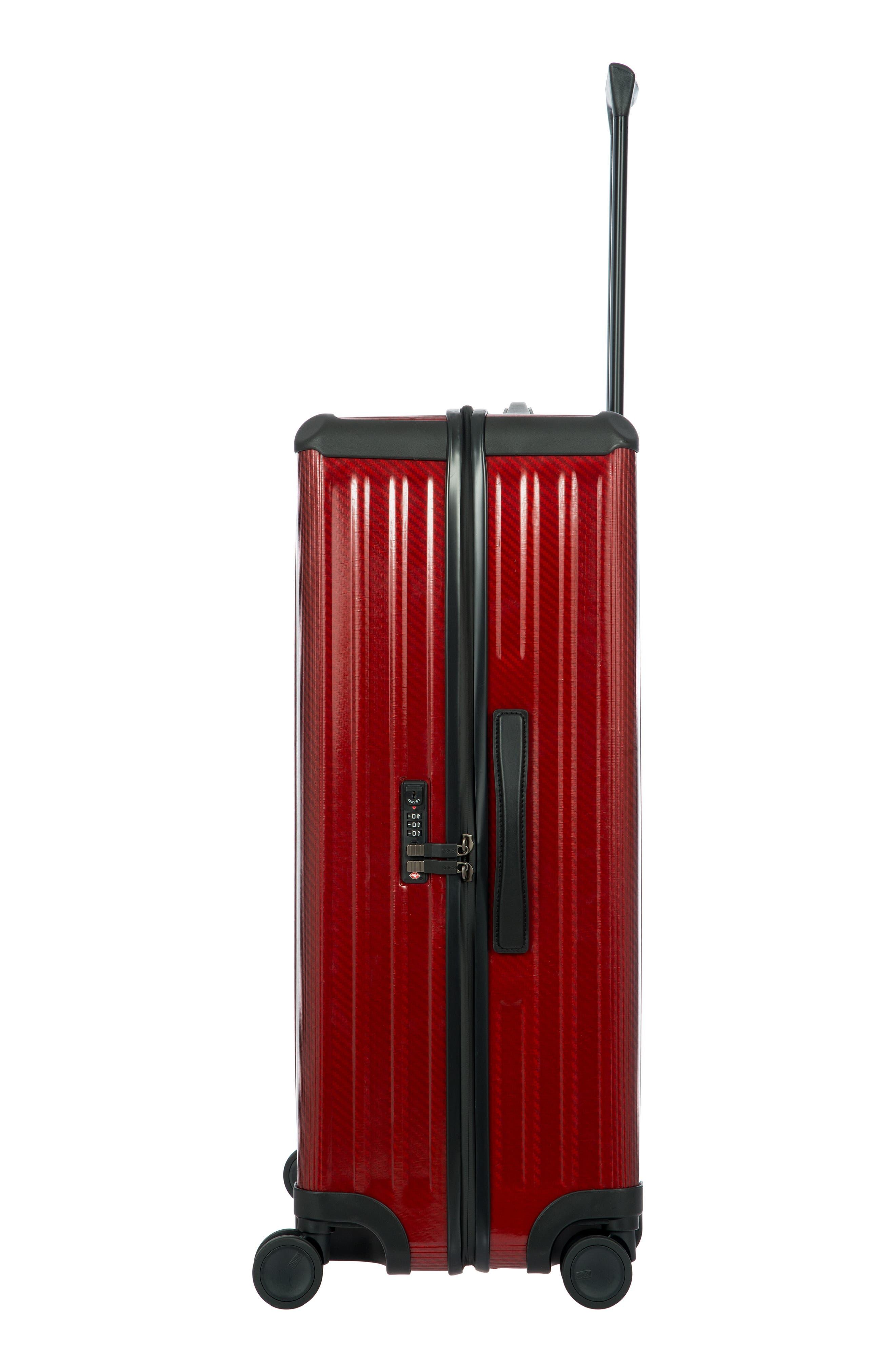 Venezia 30-Inch Hardshell Spinner Suitcase,                             Alternate thumbnail 3, color,                             RUBY