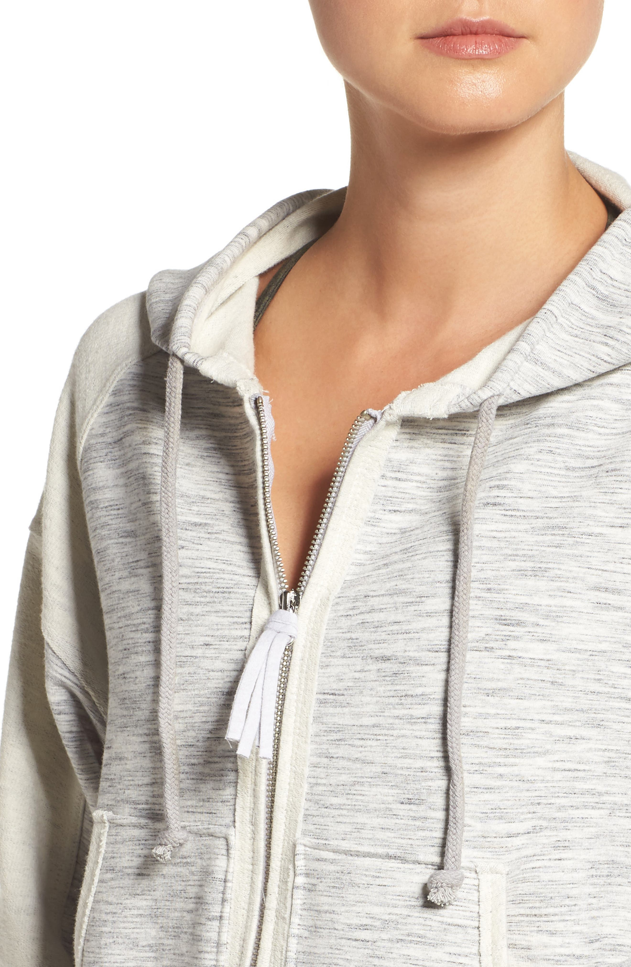 Shadowboxer Hoodie,                             Alternate thumbnail 4, color,                             GREY