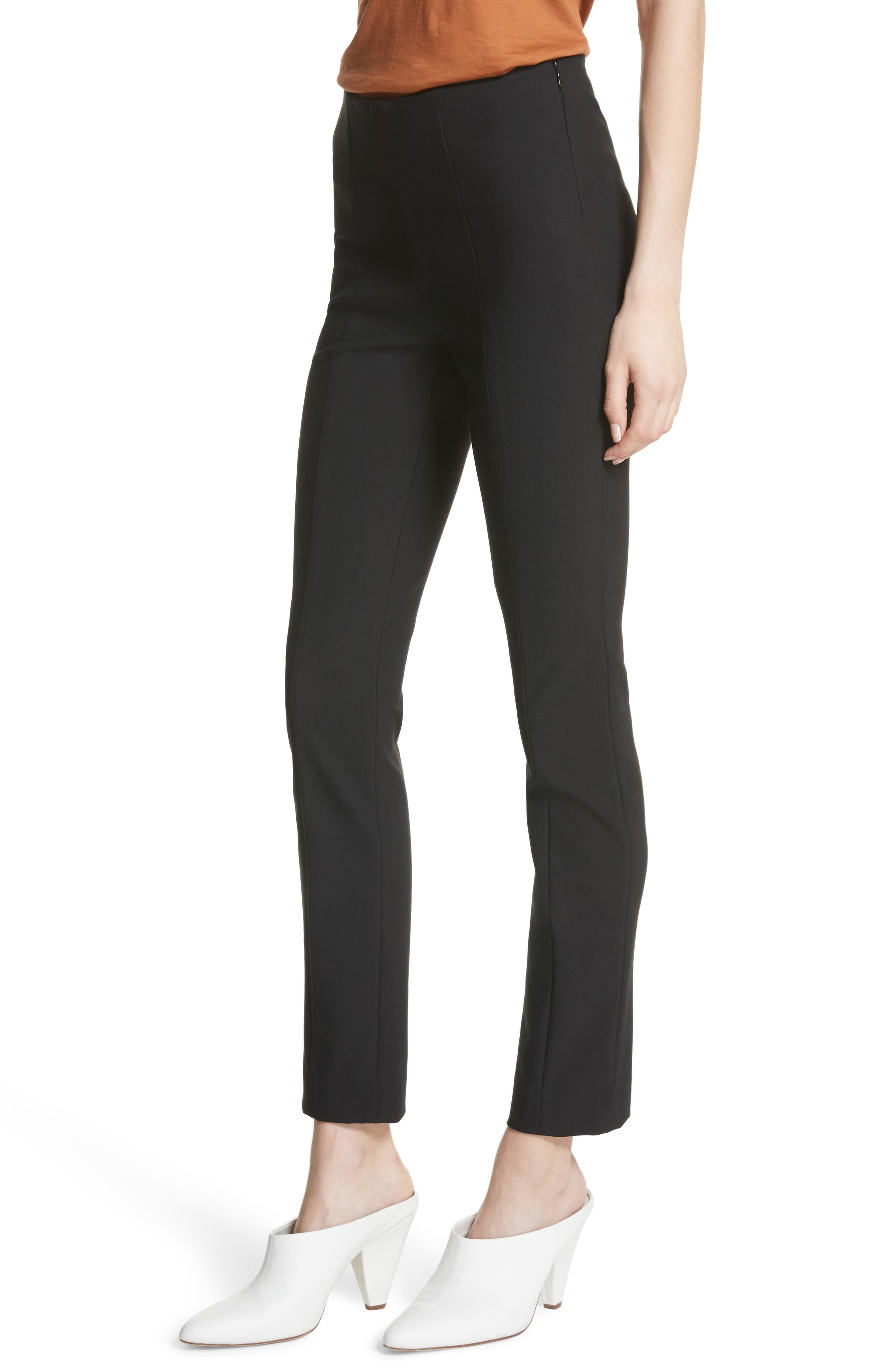 High Waist Leggings,                             Alternate thumbnail 4, color,                             001