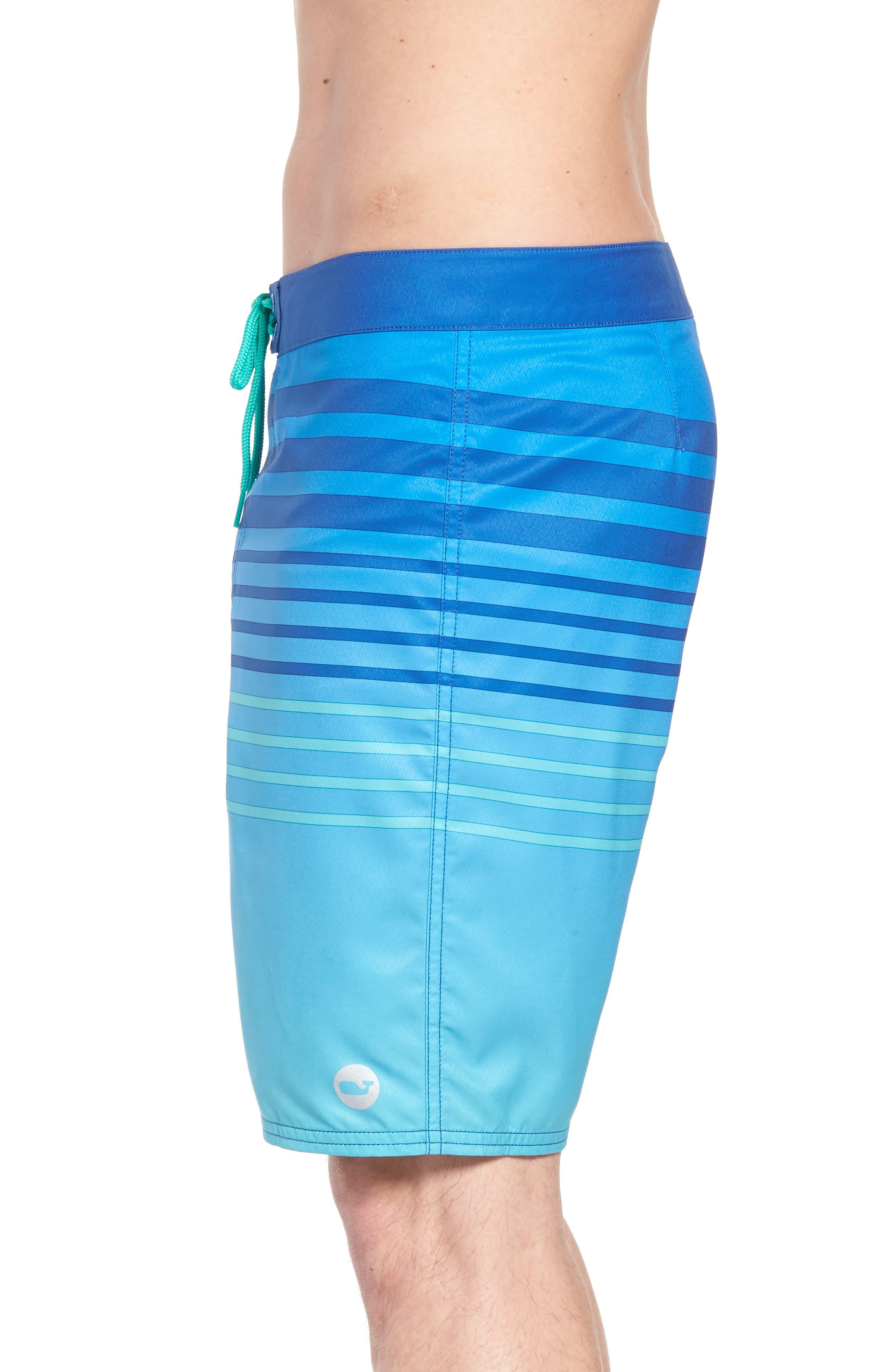 Surflodge Stripe Board Shorts,                             Alternate thumbnail 4, color,                             359