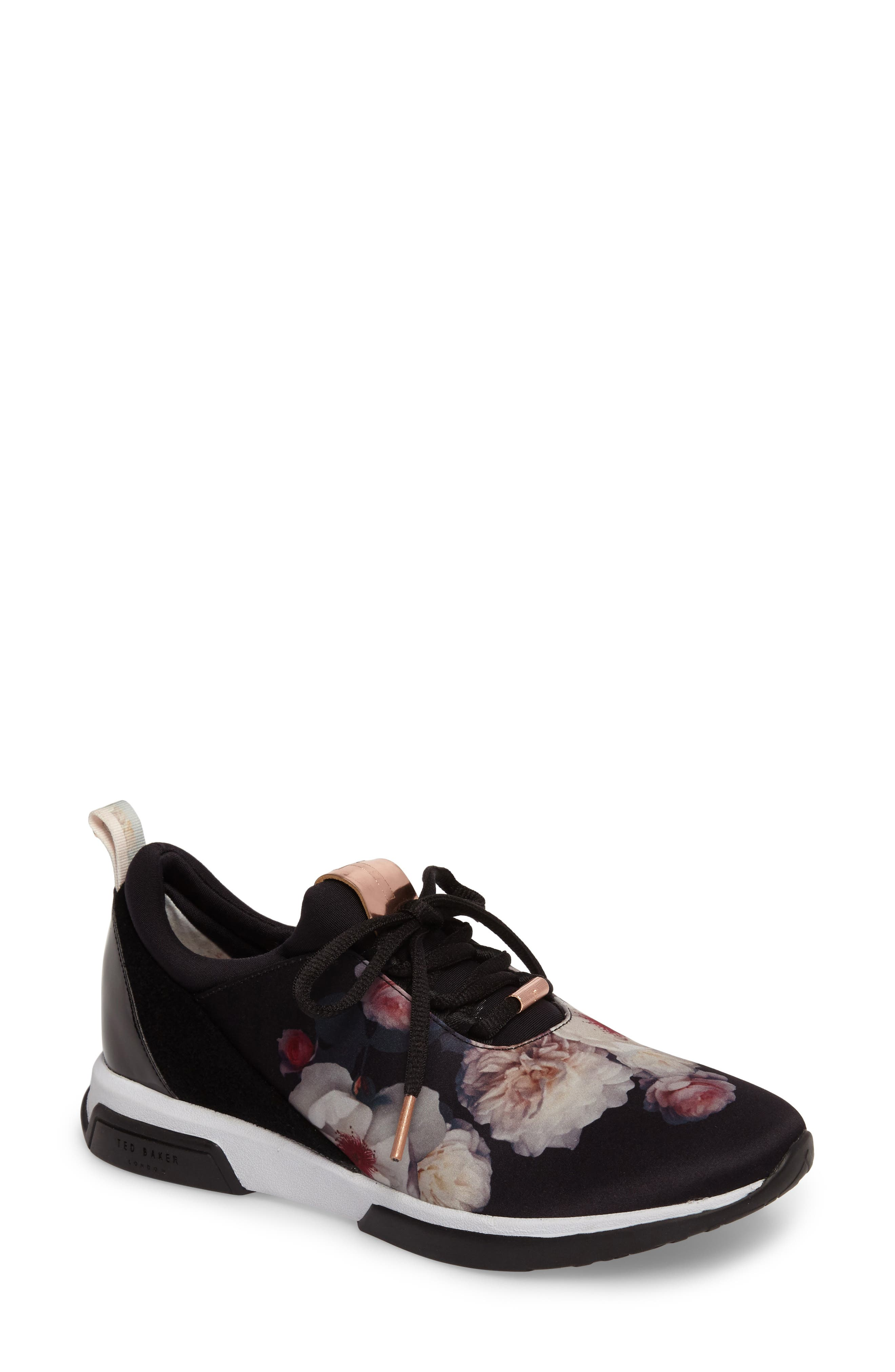 Cepape Floral Sneaker,                             Main thumbnail 1, color,