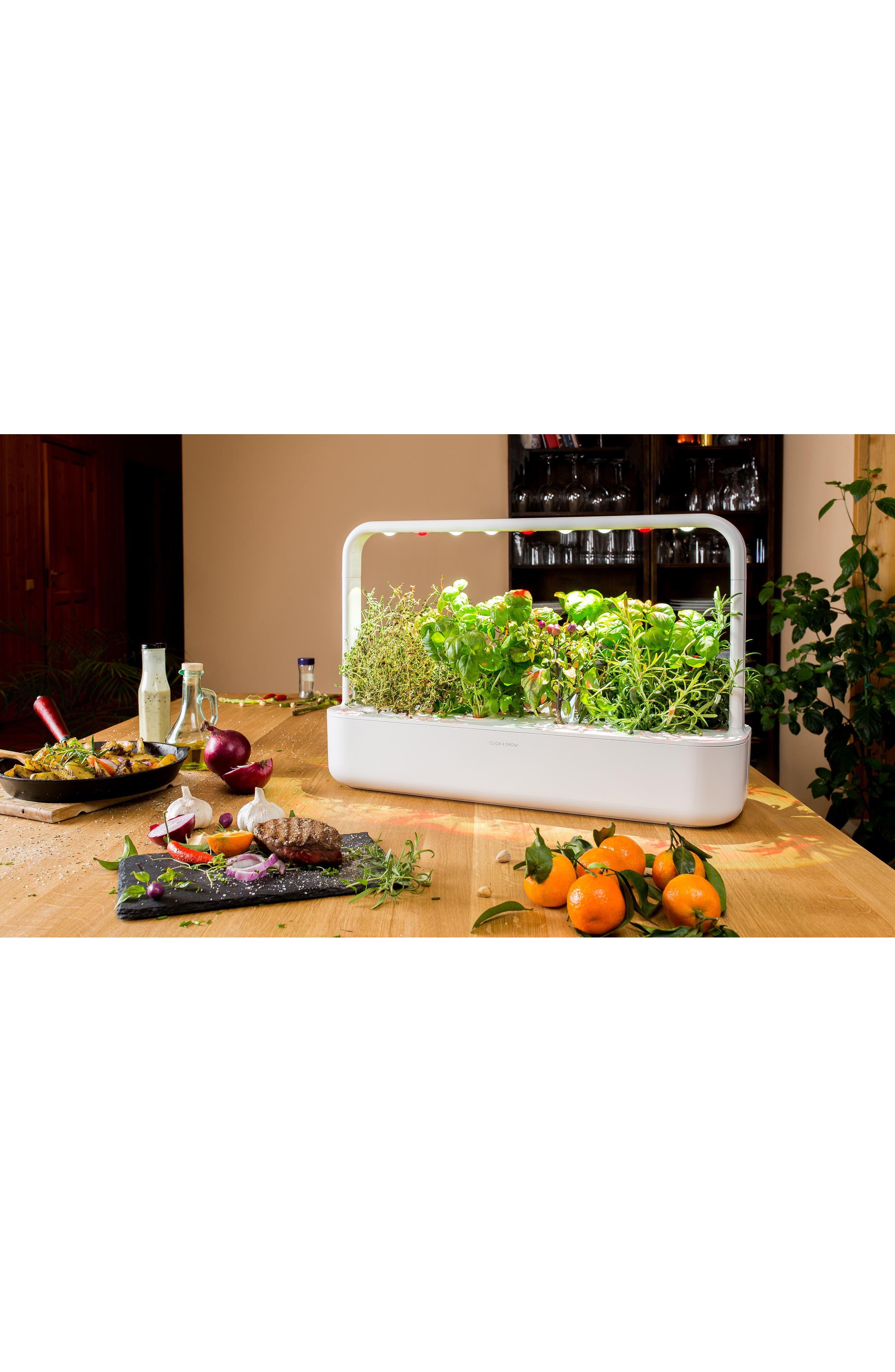 Smart Garden 9 Self Watering Indoor Garden,                             Alternate thumbnail 2, color,                             GREY