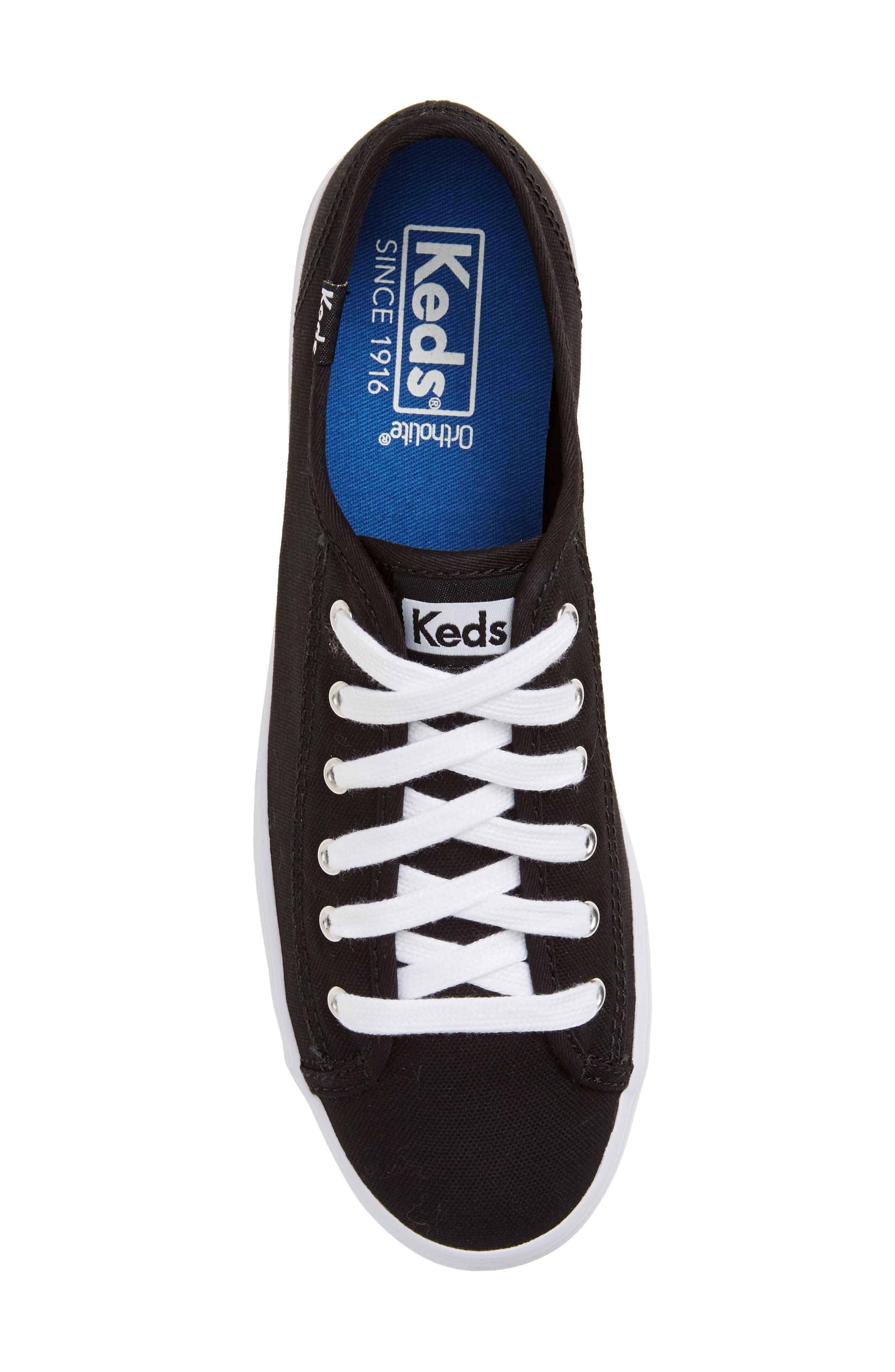 Triple Kick Platform Sneaker,                             Alternate thumbnail 5, color,                             002