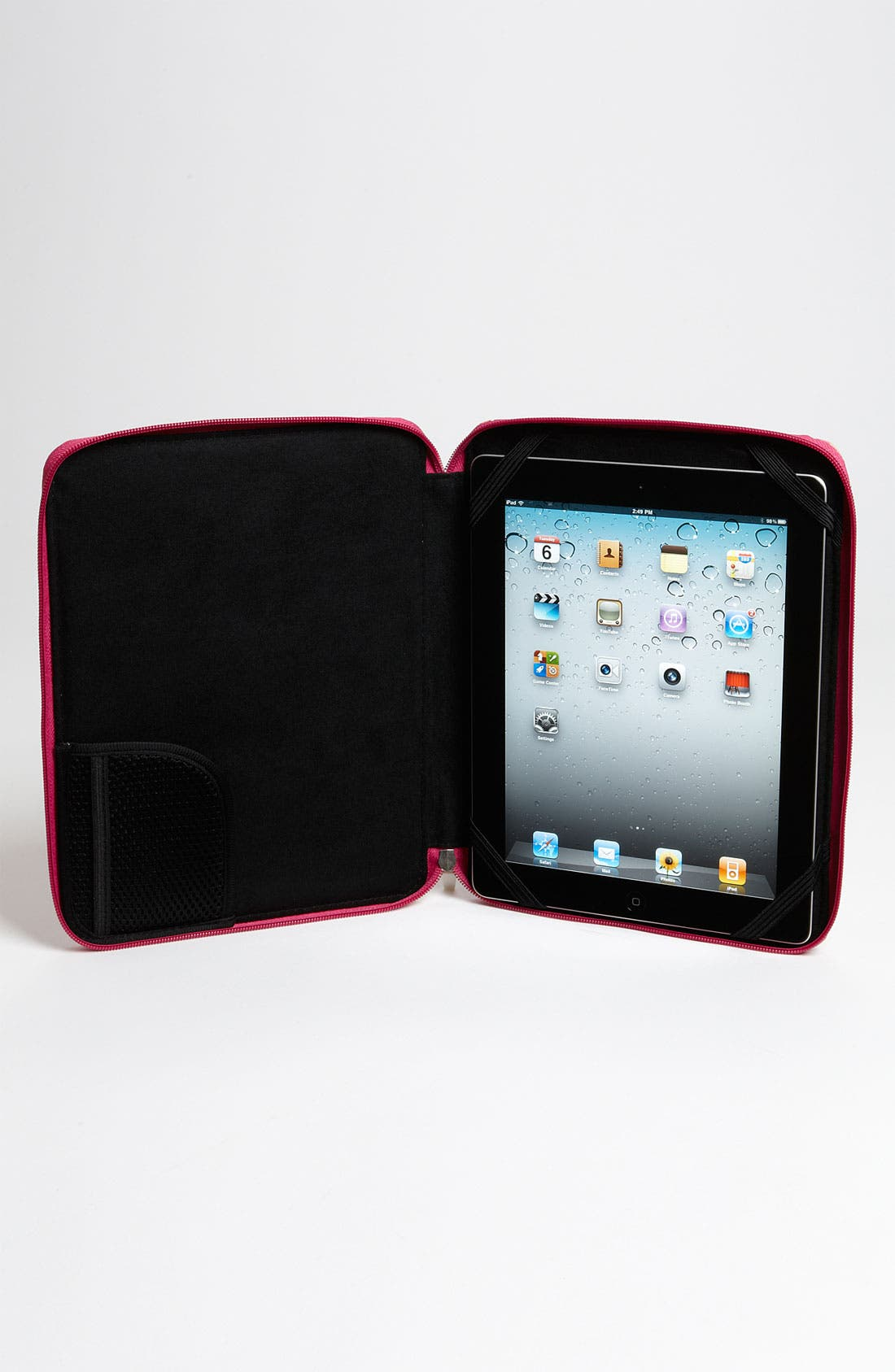 JONATHAN ADLER,                             'Gothic Rose' iPad Case,                             Alternate thumbnail 4, color,                             840