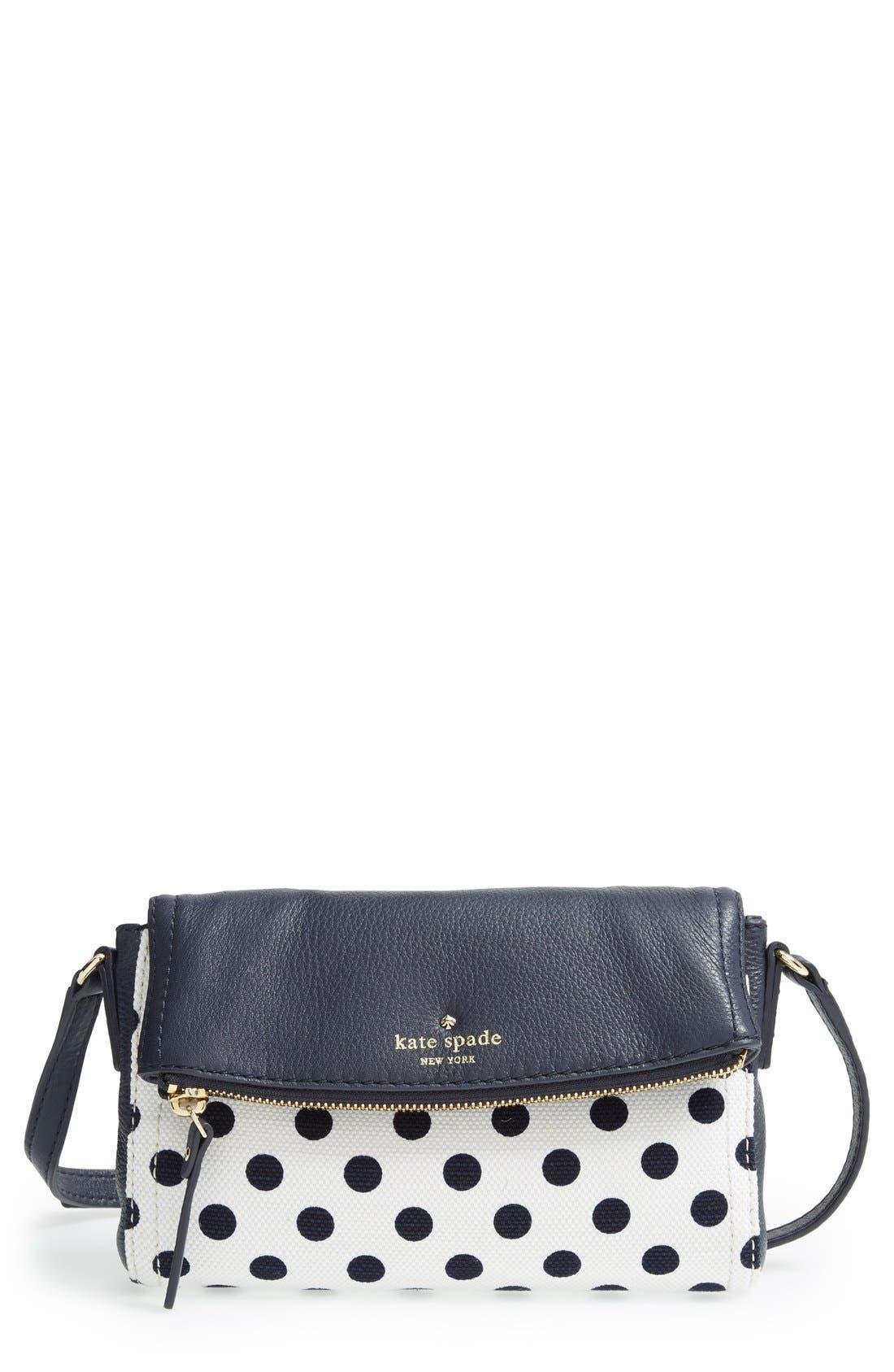 'cobble hill - dot mini carson' crossbody bag,                         Main,                         color, 426
