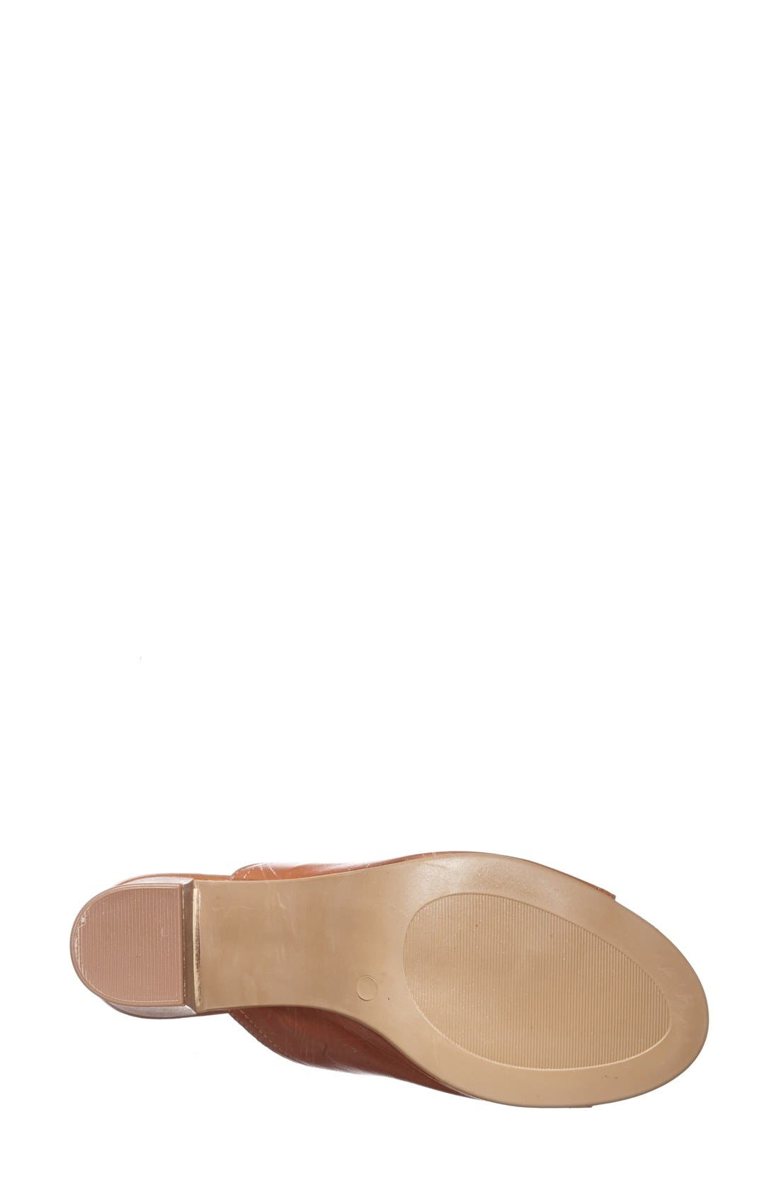 'Arno' Leather Mule,                             Alternate thumbnail 7, color,