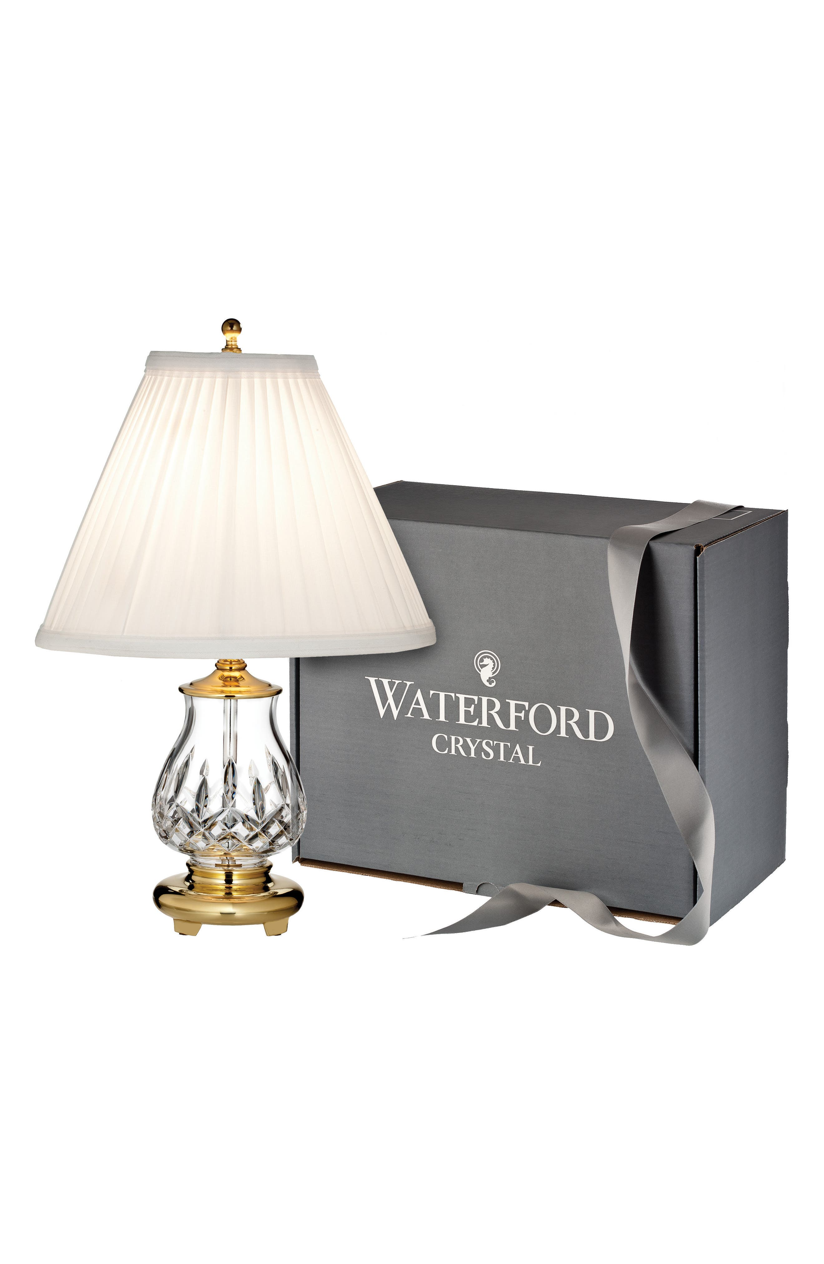 Lismore Lead Crystal Table Lamp,                         Main,                         color, 100