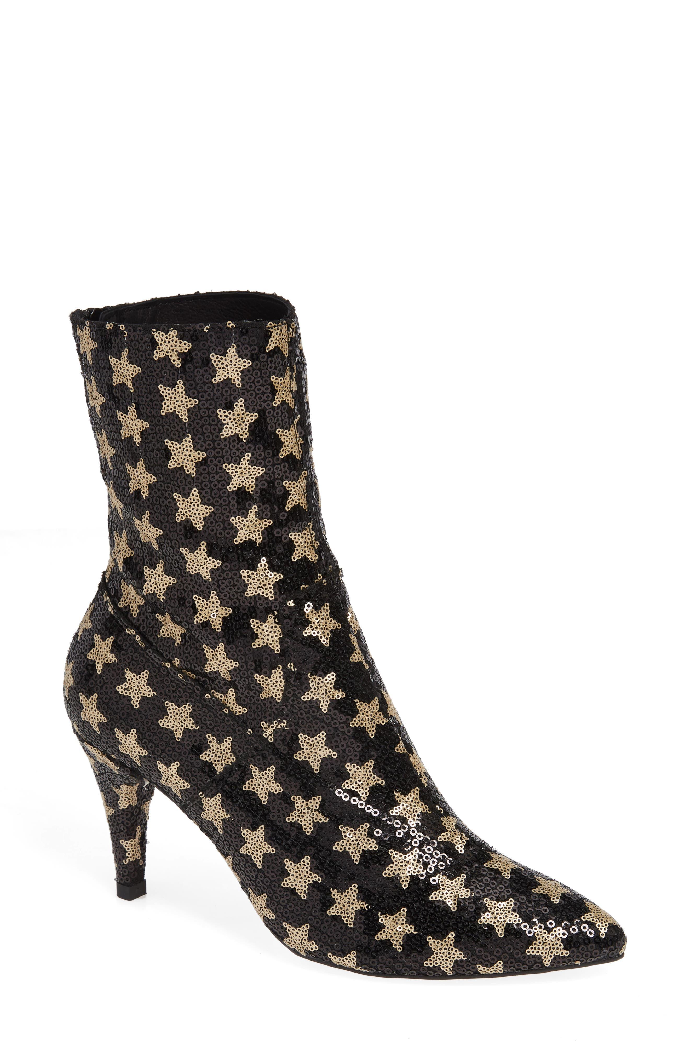 Lexi Boot,                         Main,                         color, BLACK MULTICOLOR