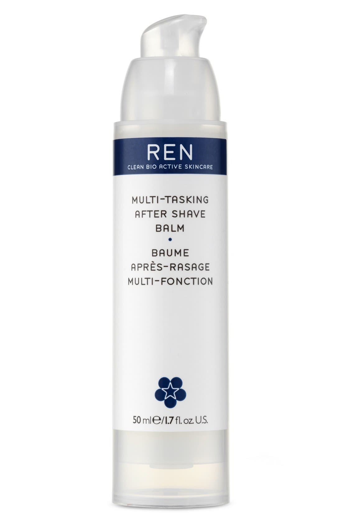 SPACE.NK.apothecary REN Multi-Tasking After Shave Balm,                             Main thumbnail 1, color,                             000
