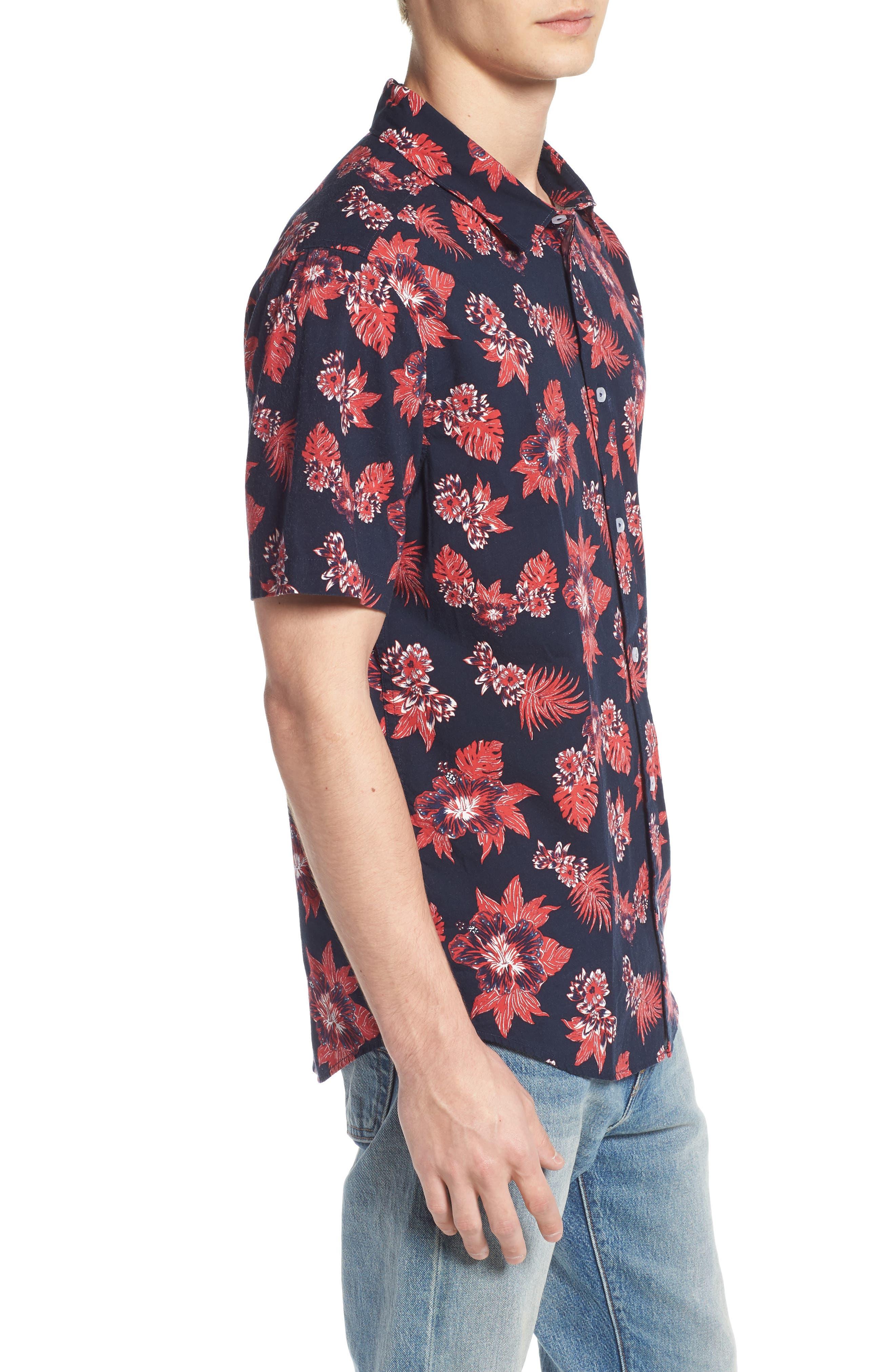 McMillian Woven Shirt,                             Alternate thumbnail 3, color,                             402