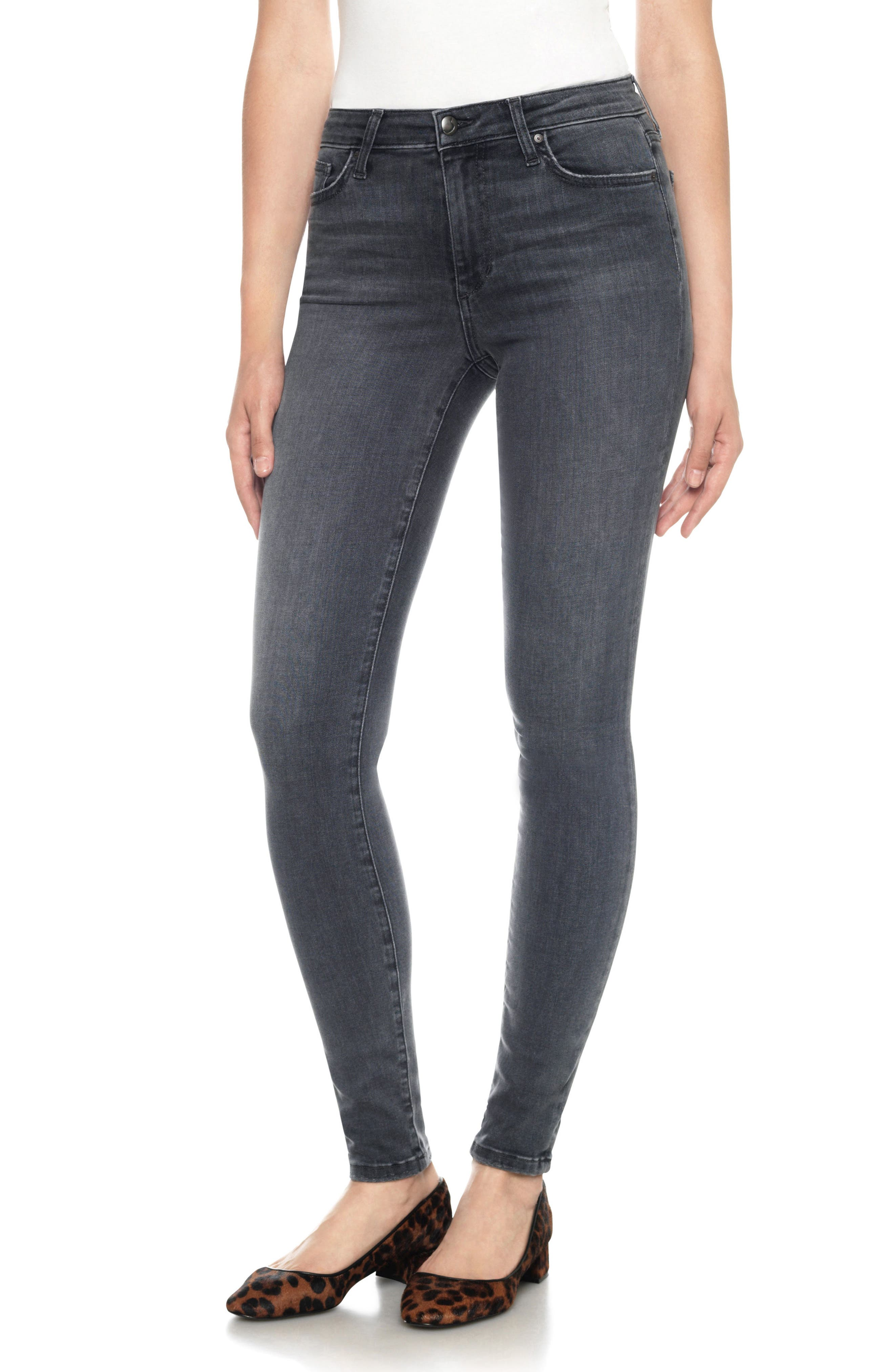 Flawless - Charlie High Waist Skinny Jeans,                             Main thumbnail 1, color,                             027