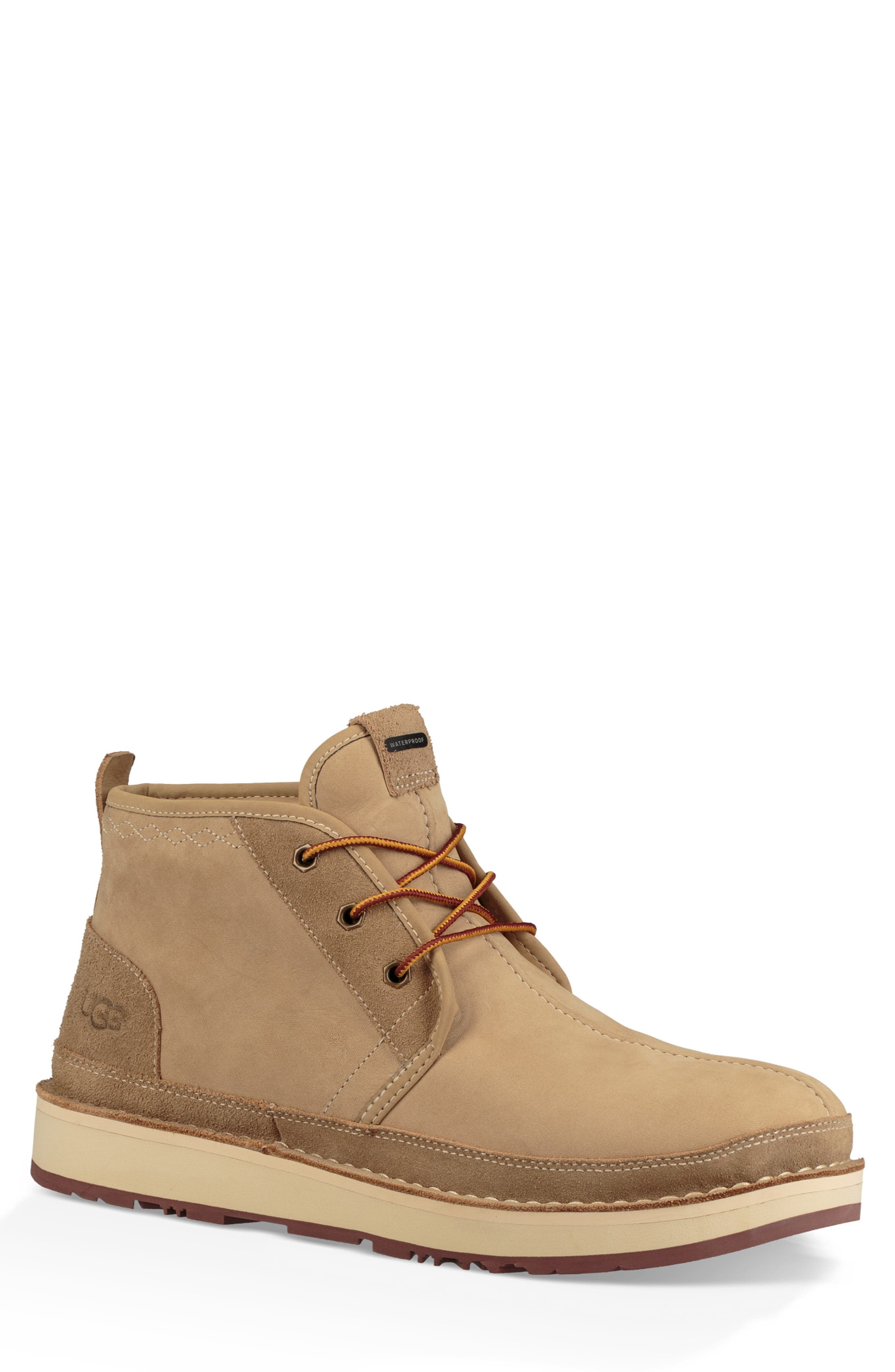 Avalance Neumel Waterproof Boot,                             Main thumbnail 1, color,                             DESERT TAN