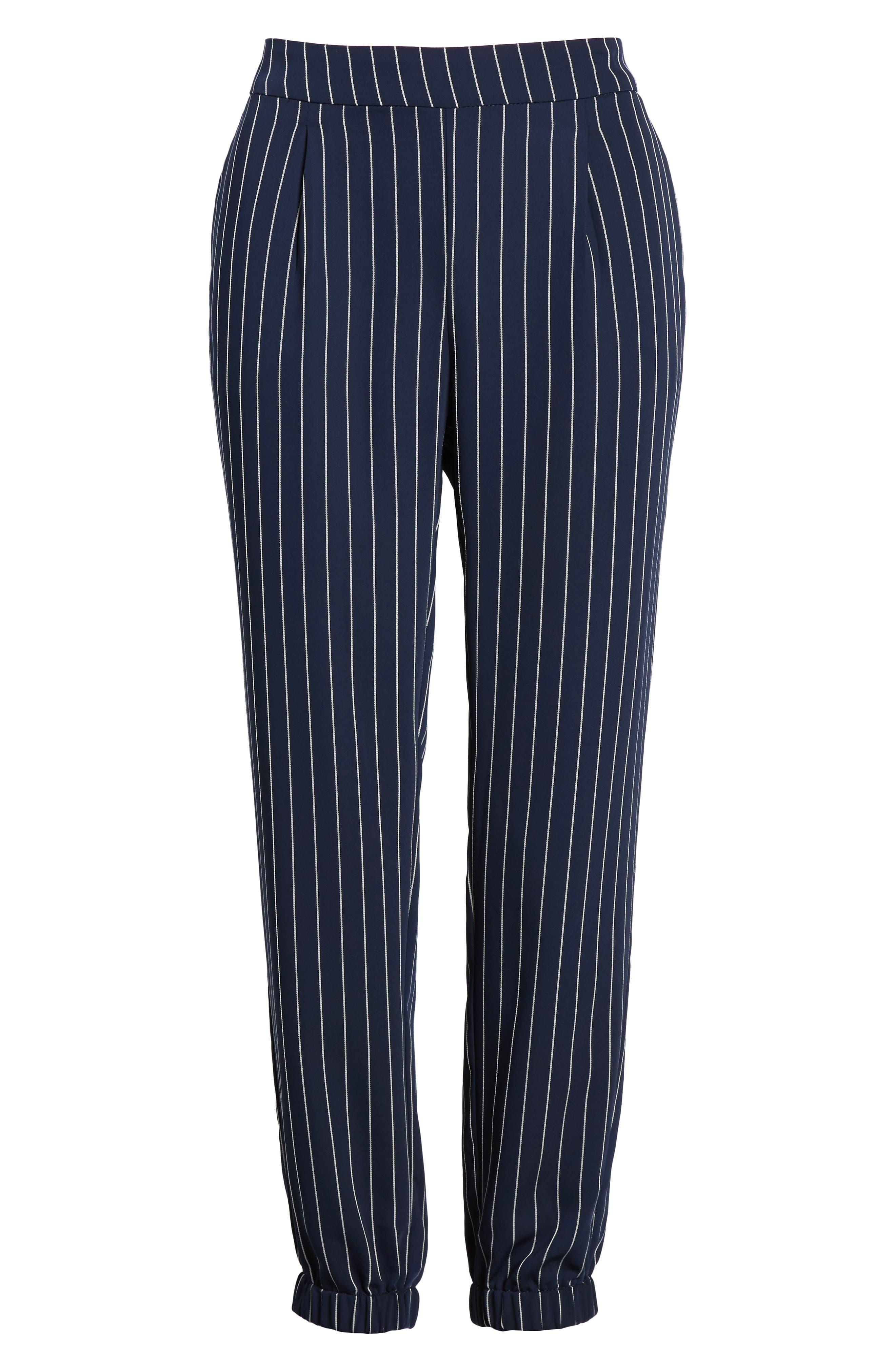 Stripe Jogger Pants,                             Alternate thumbnail 7, color,